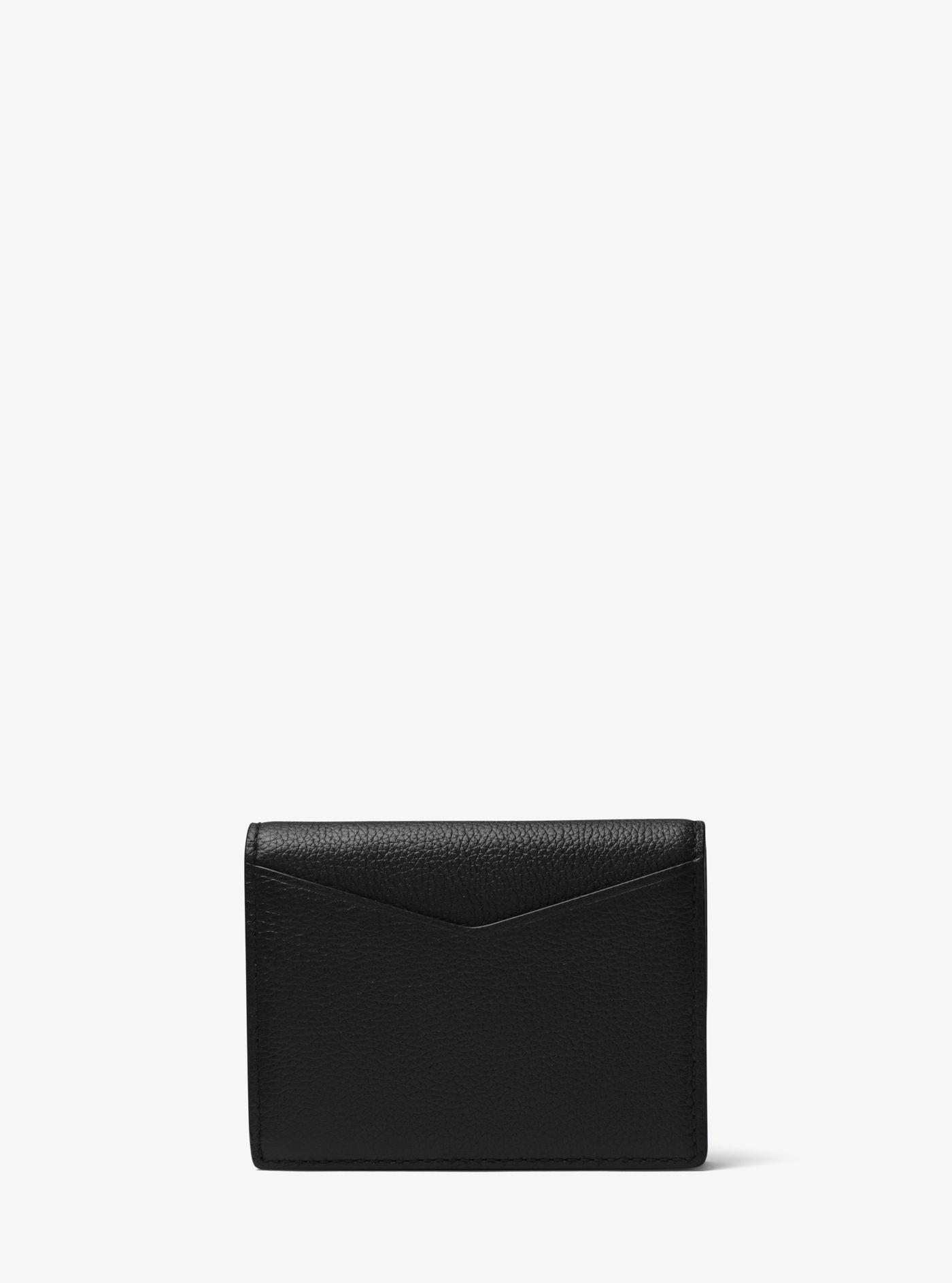 7f53cefe83b42 Lyst - Michael Kors Bryant Leather L-fold Wallet in Black for Men