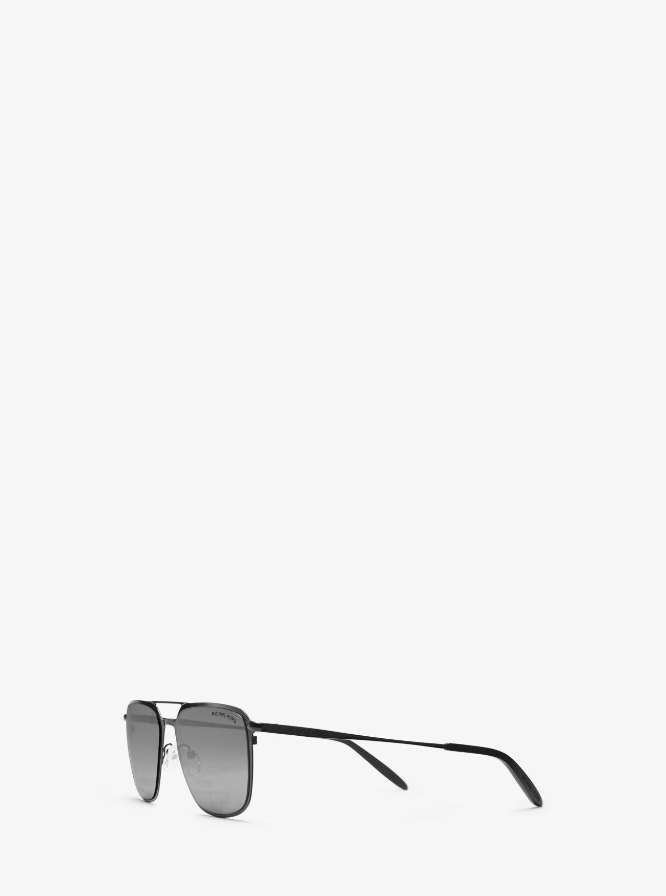 1125f31c796d Michael Kors - Black Trenton Sunglasses for Men - Lyst. View fullscreen