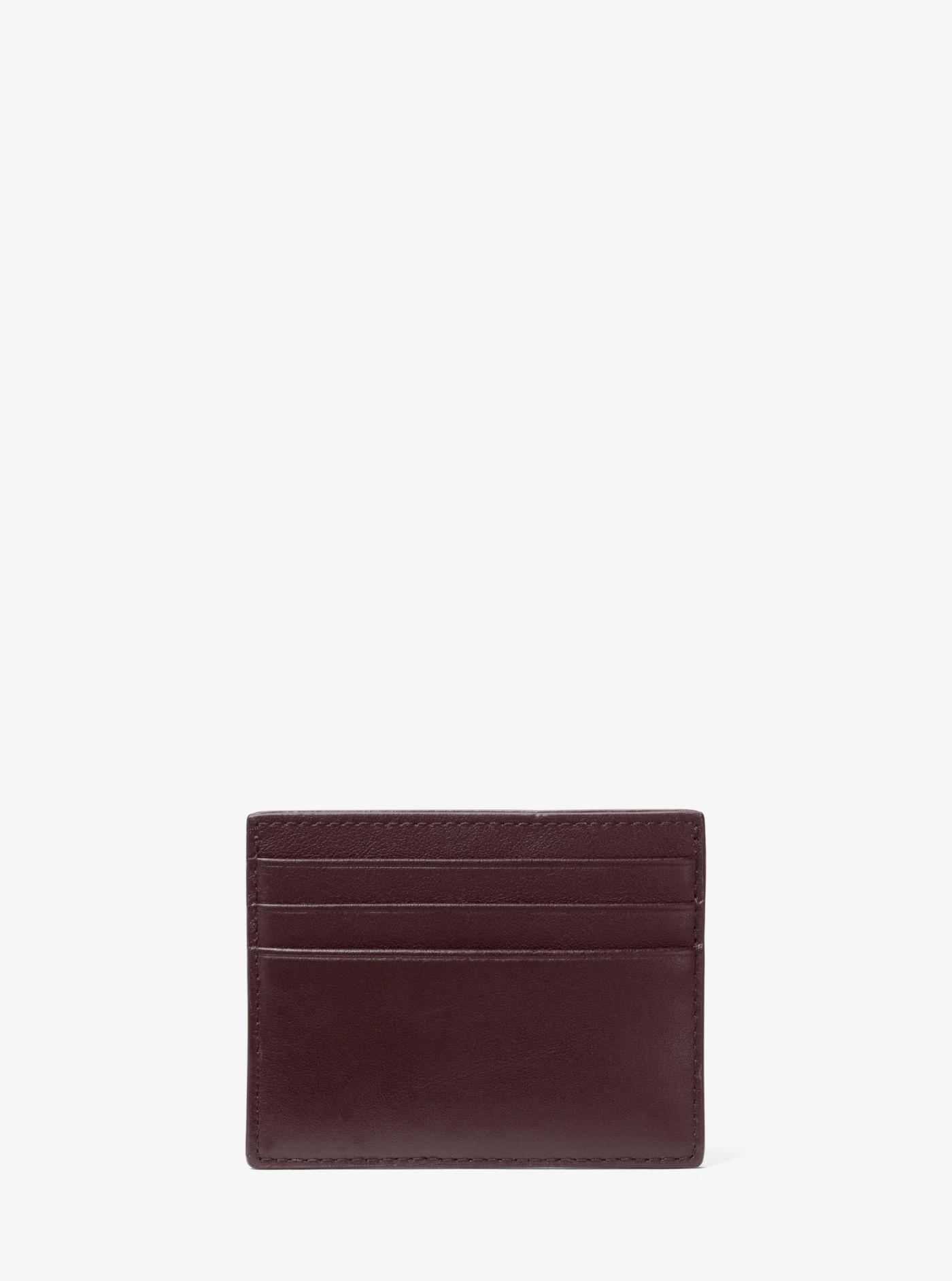 90c2aa591355 Michael Kors - Multicolor Odin Tall Leather Card Case for Men - Lyst. View  fullscreen