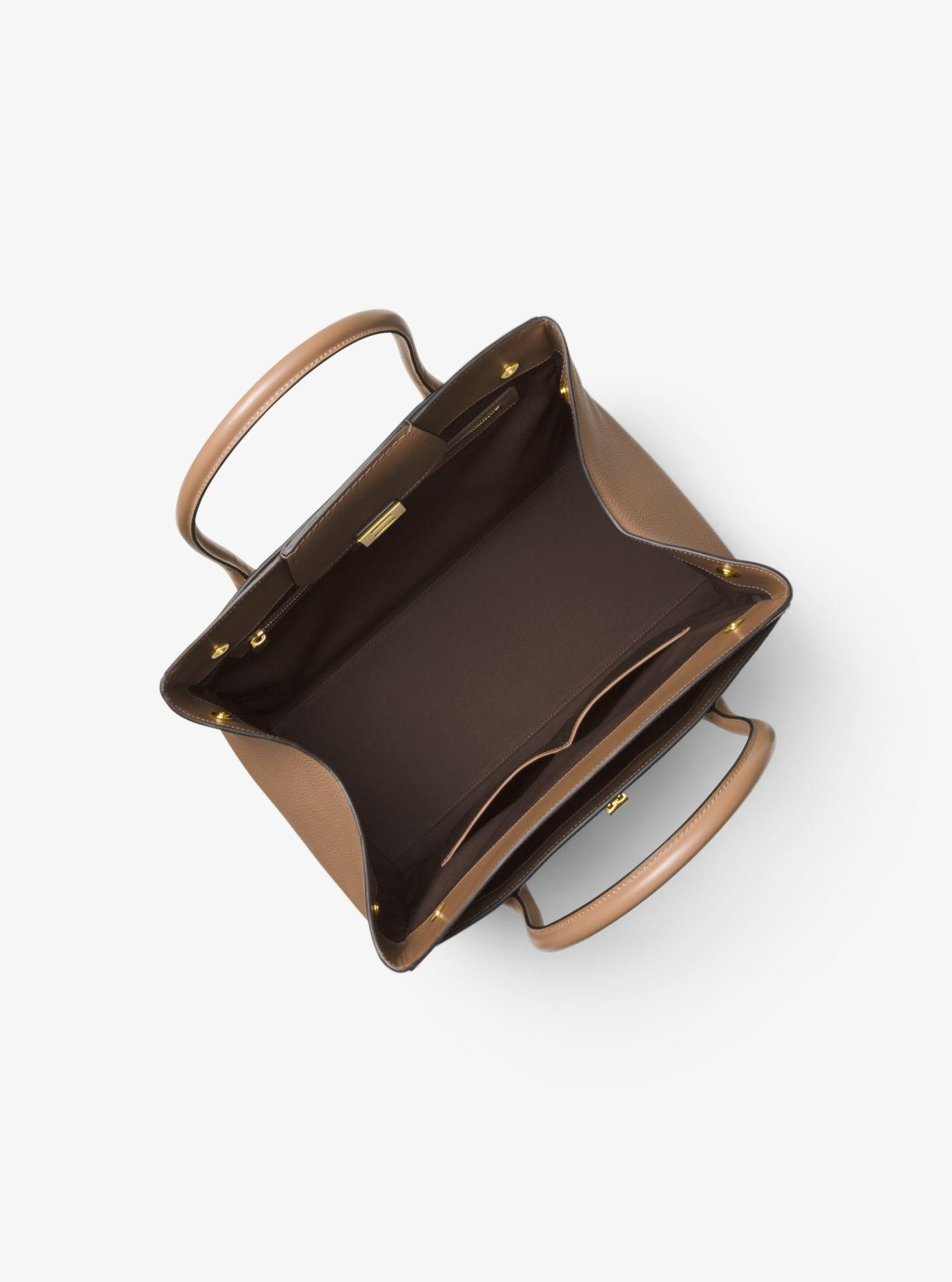 57c5f7928e91 Michael Kors - Multicolor Bancroft Pebbled Calf Leather Weekender - Lyst.  View fullscreen