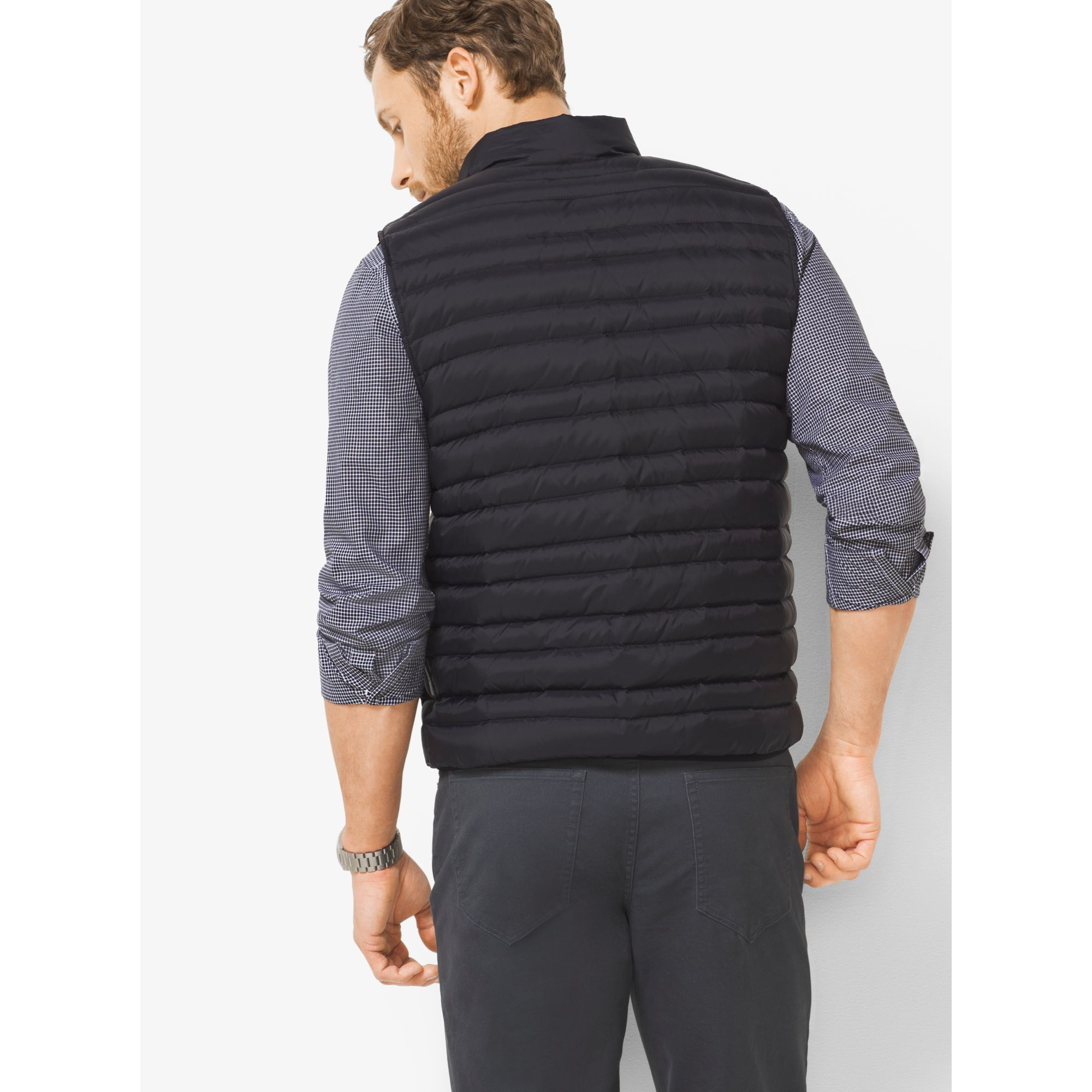 89eae41daeed Michael Kors - Multicolor Quilted-nylon Down Vest for Men - Lyst