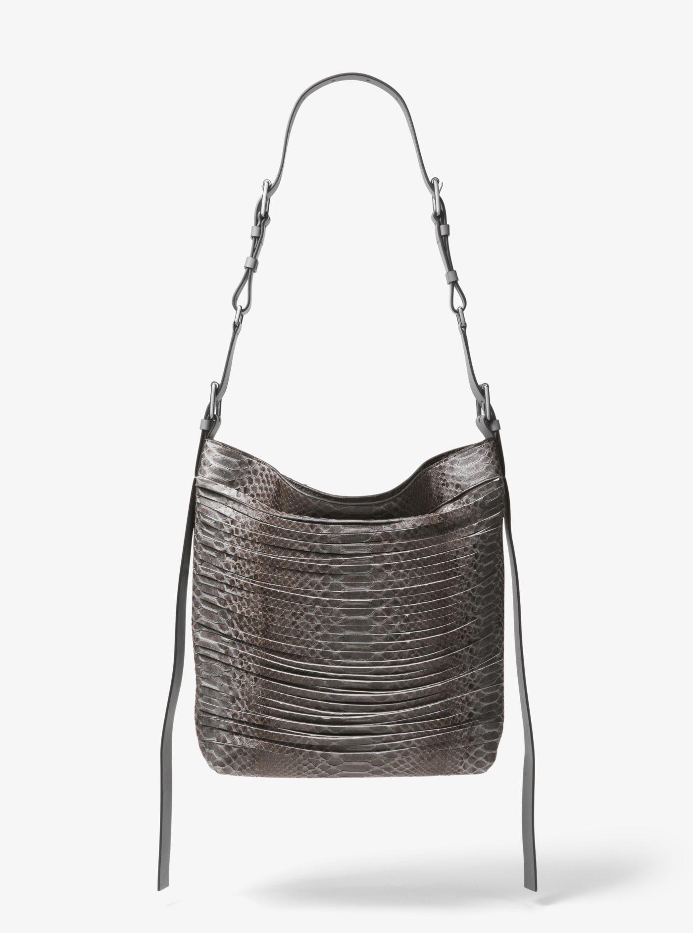 eac723d40215 Lyst - Michael Kors Naomi Extra-large Leather Shoulder Bag