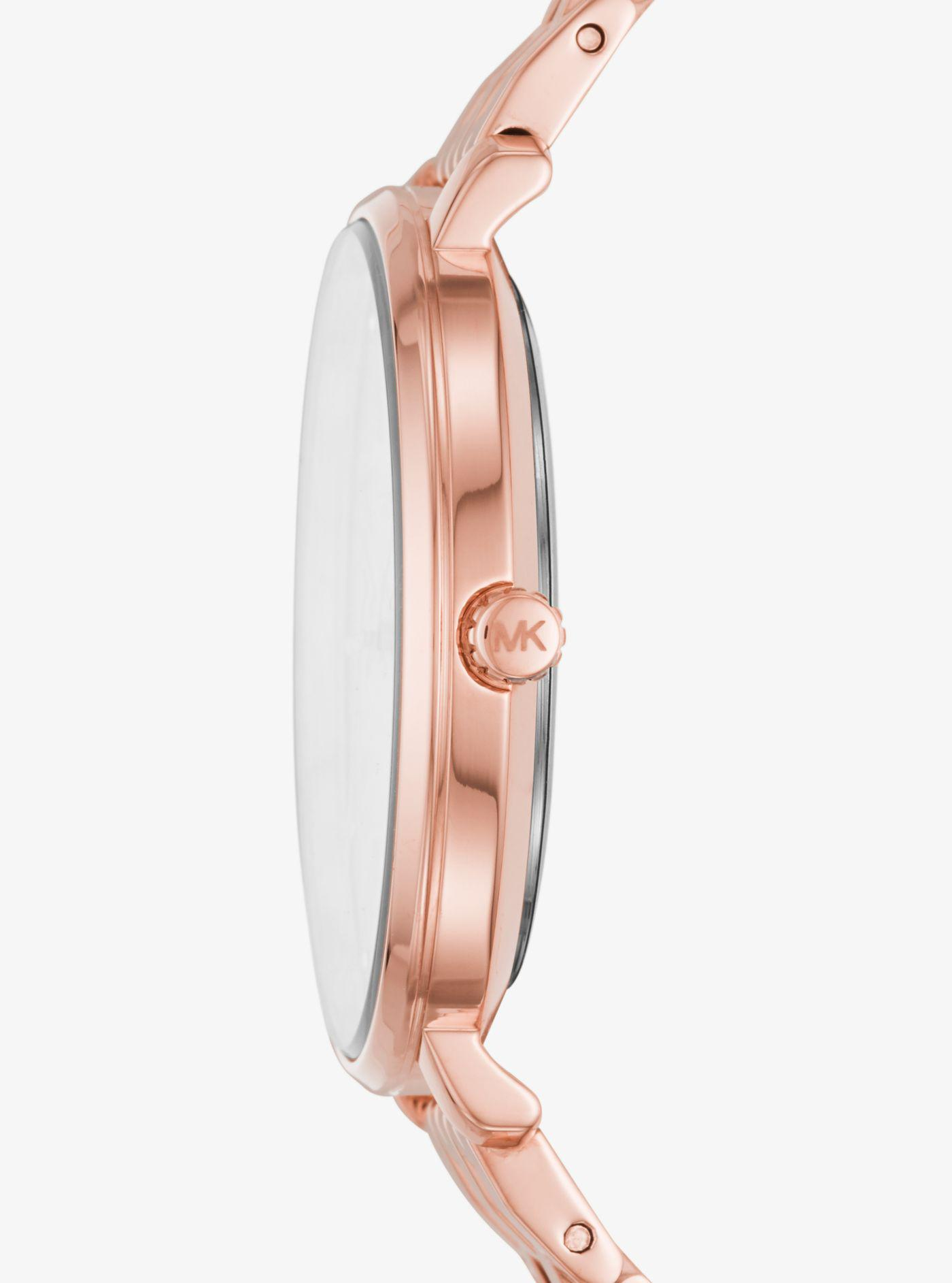 Michael Kors - Multicolor Pyper Rose Gold-tone Watch - Lyst. View fullscreen dd60a434529