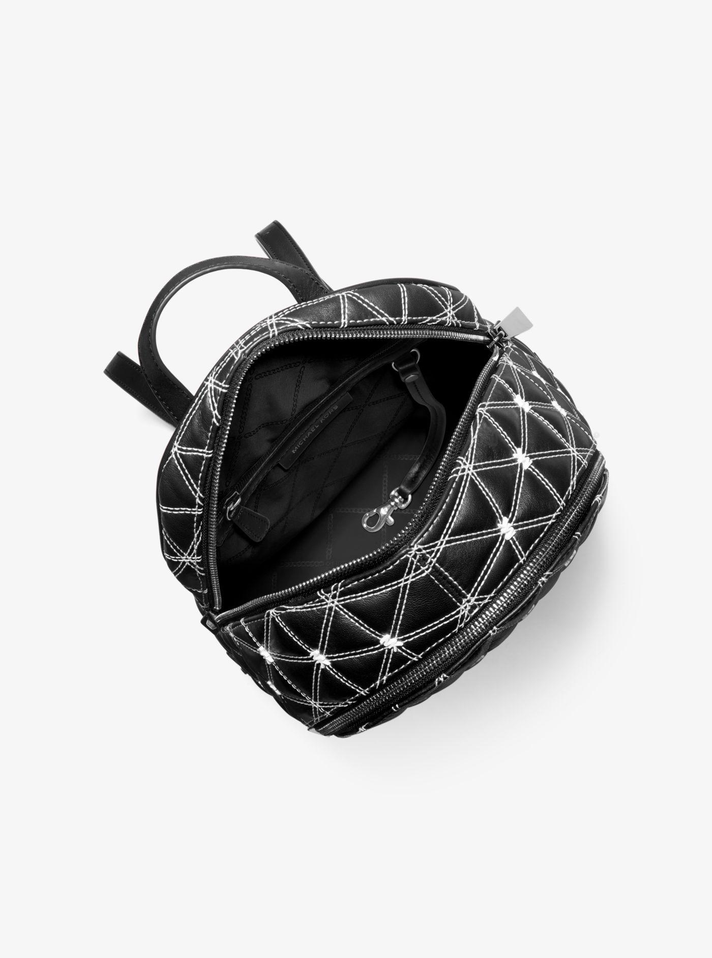 40e4edff4fba Rhea Medium Quilted Leather Backpack | The Shred Centre