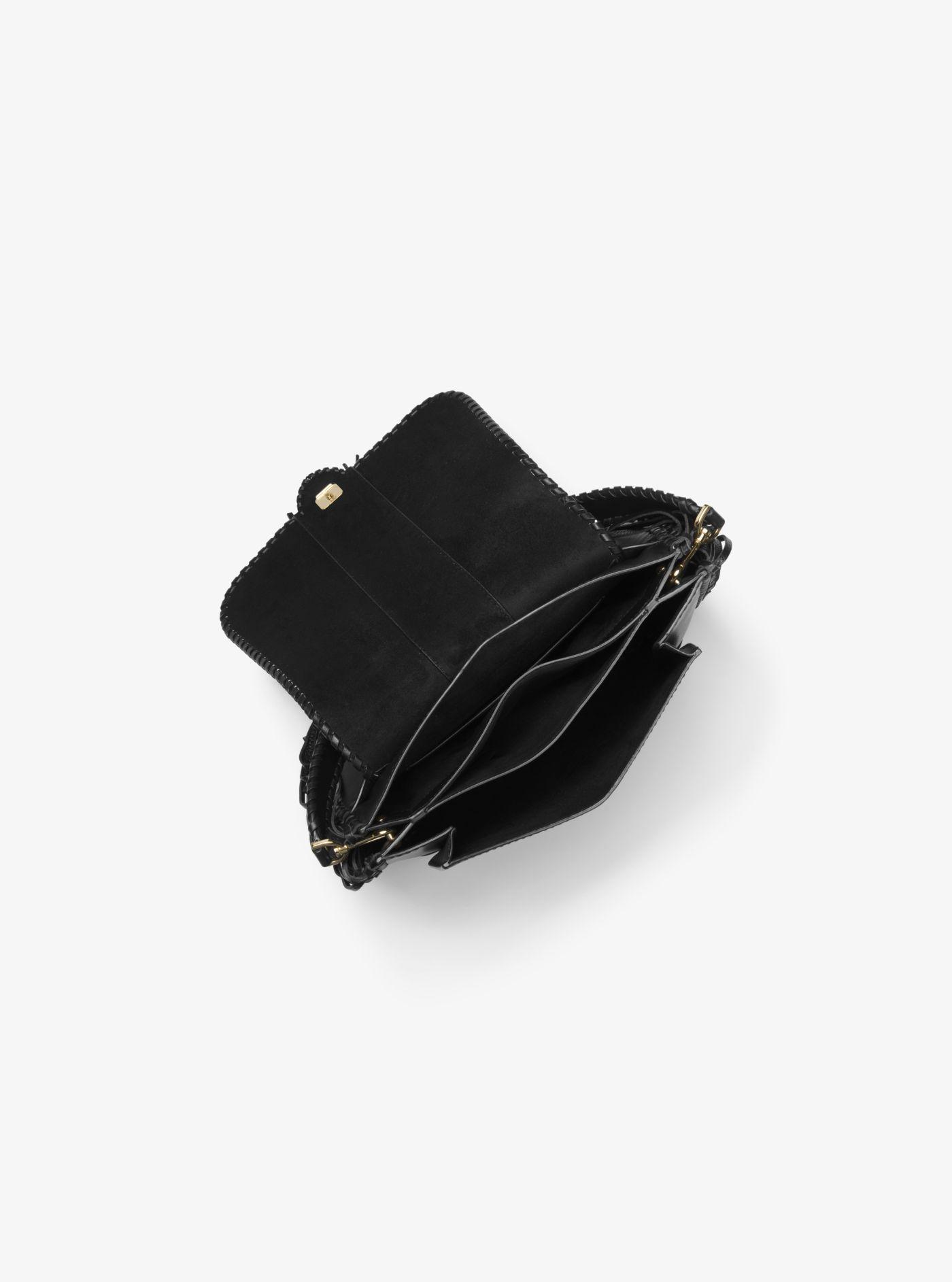 0733b269e3 Lyst - Sac porté épaule Lillie en cuir à franges de taille moyenne ...