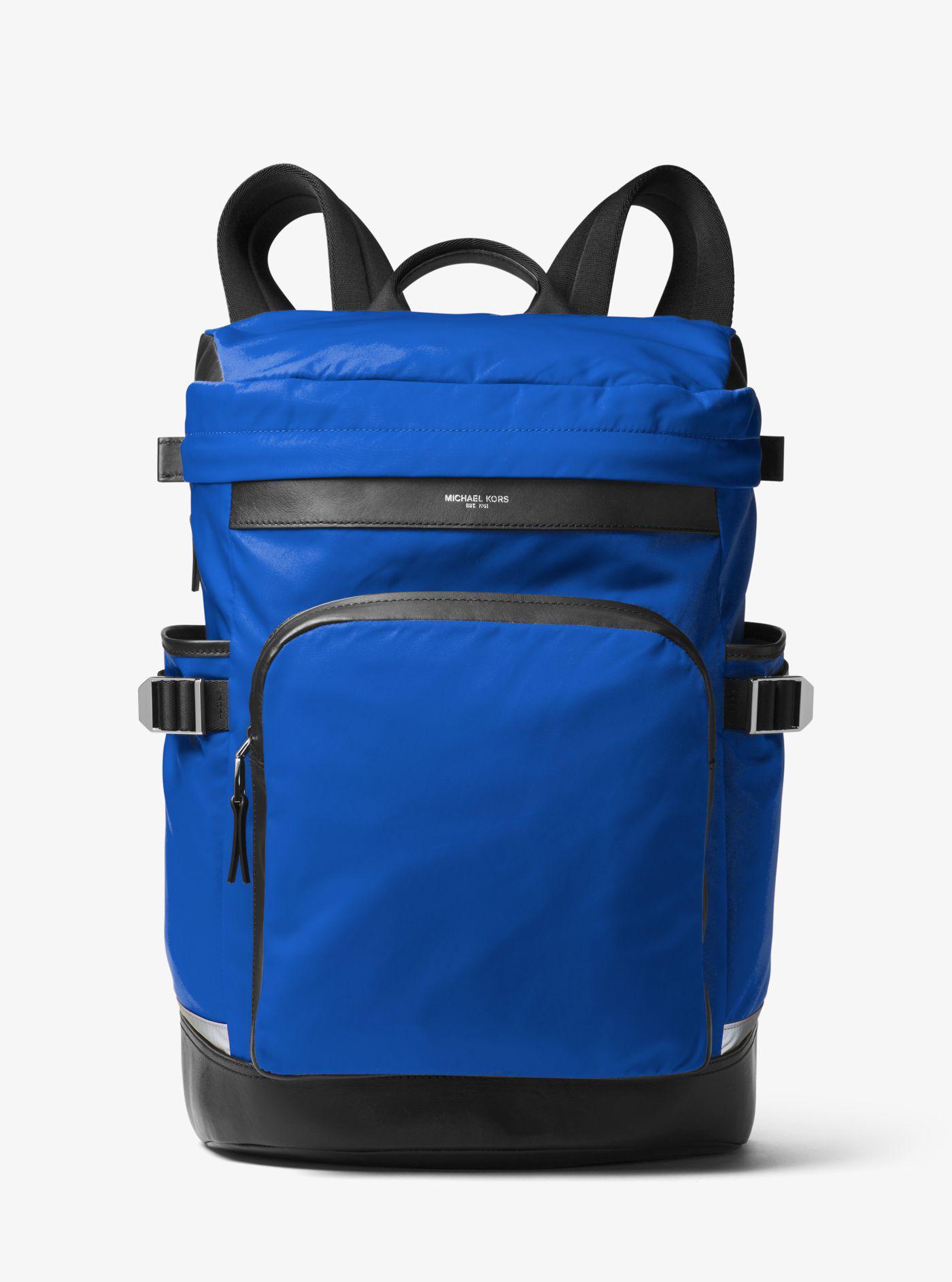 d8811cc72de9 Lyst - Michael Kors Kent Nylon Cycling Backpack in Blue for Men