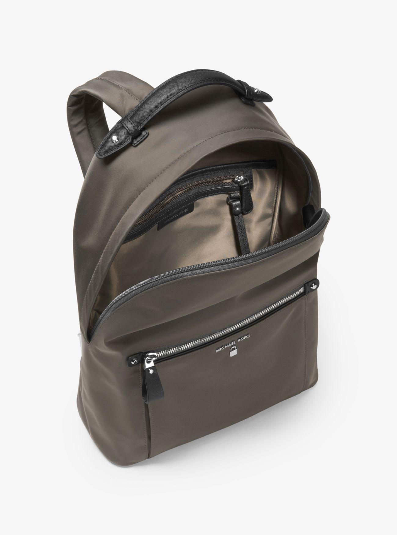 b7c115d6ffcc MICHAEL Michael Kors - Gray Kelsey Large Nylon Backpack - Lyst. View  fullscreen