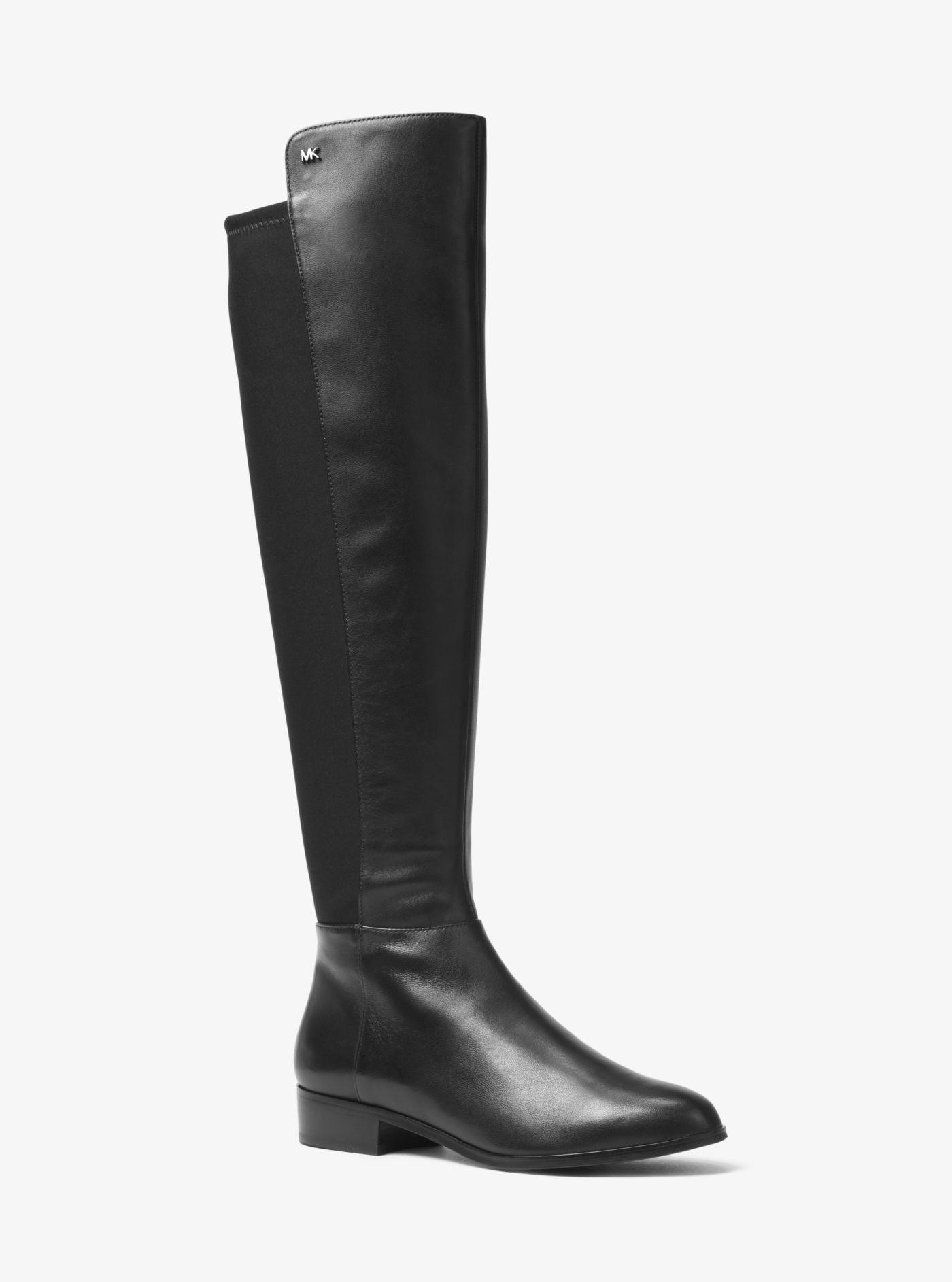 66f4faf95c11 Michael Kors Bromley Nappa Leather Boot in Black - Lyst