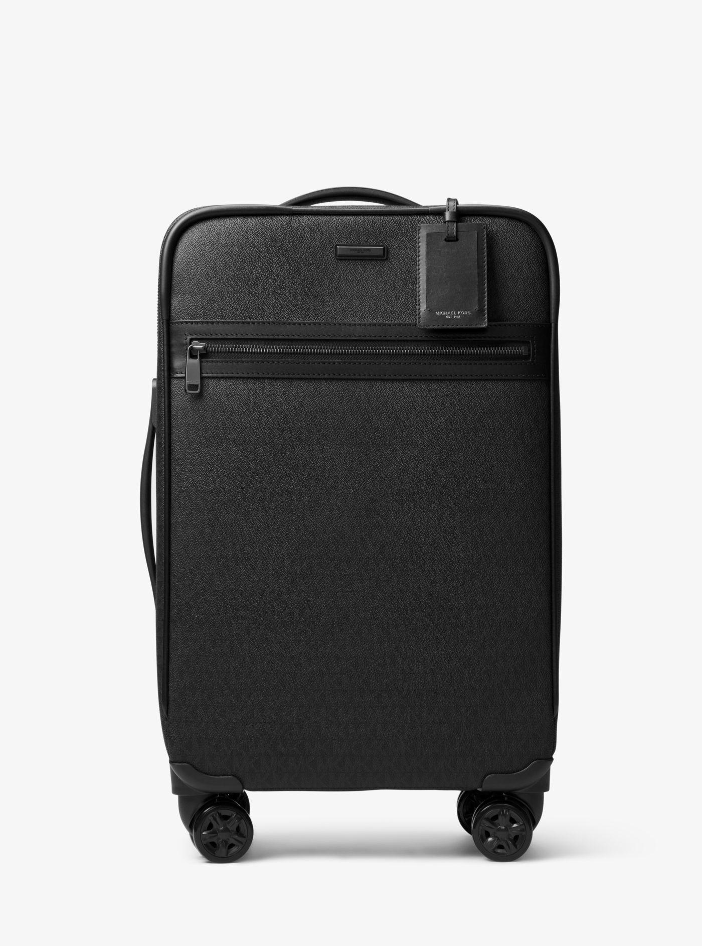 b368ef154842 Michael Kors Jet Set Travel Logo Suitcase in Black for Men - Lyst