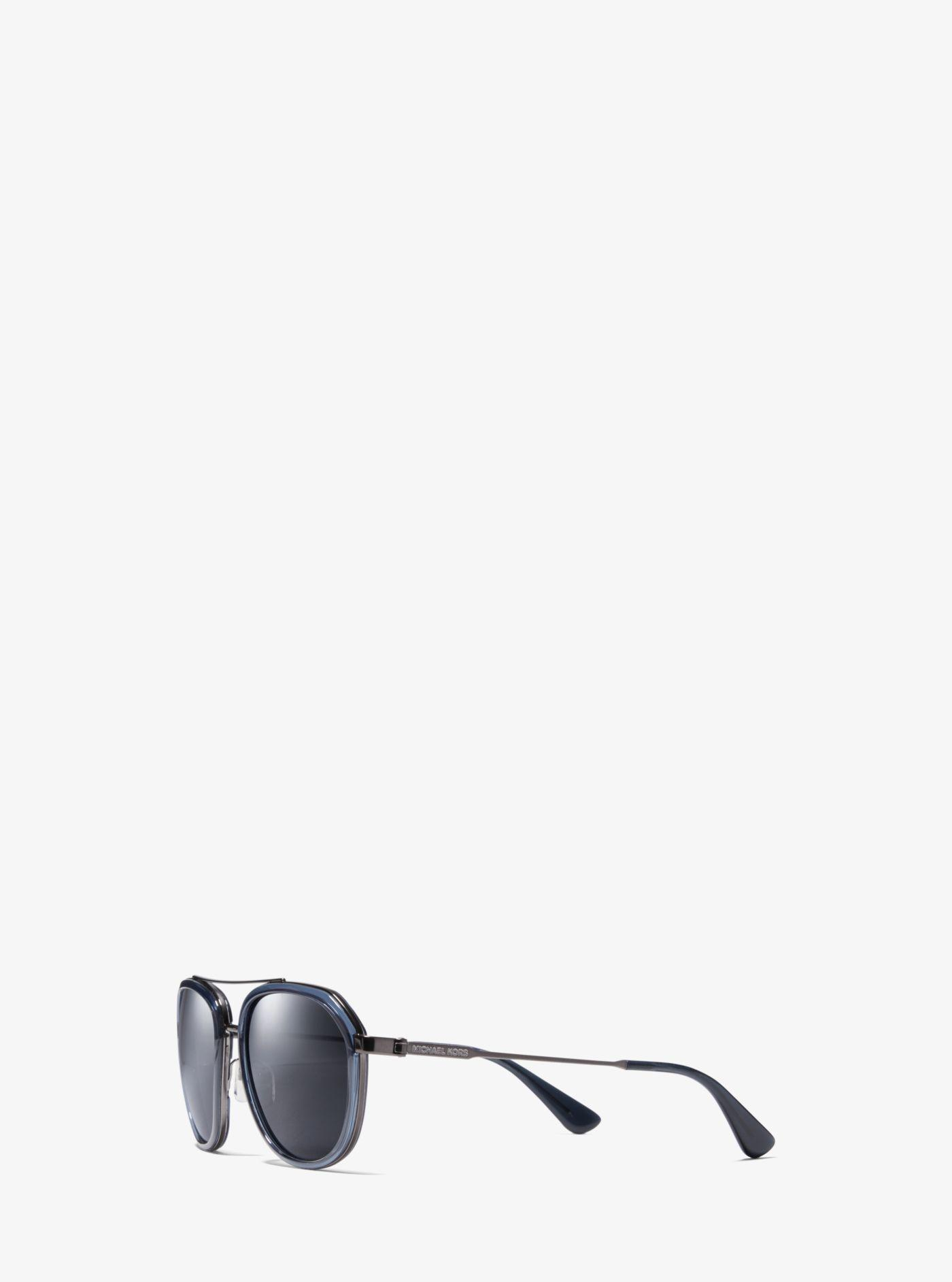 29d2e0a9d4db Michael Kors - Blue Montego Sunglasses - Lyst. View fullscreen
