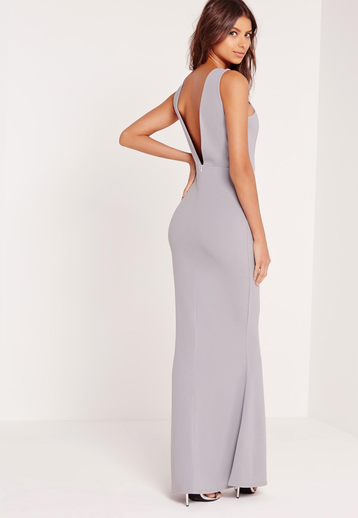 Low Back Maxi Dress