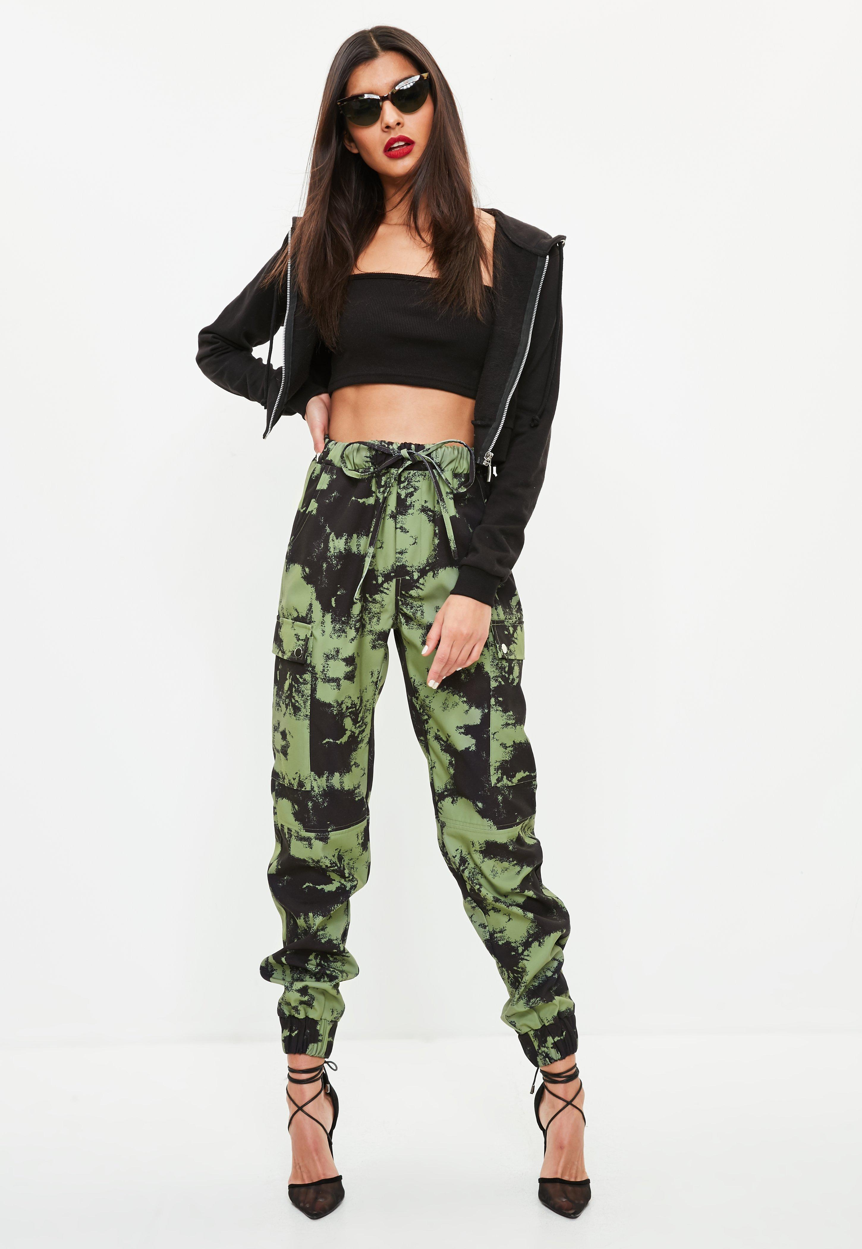 317797add943 Gallery. Previously sold at: Missguided · Women's Printed Trousers
