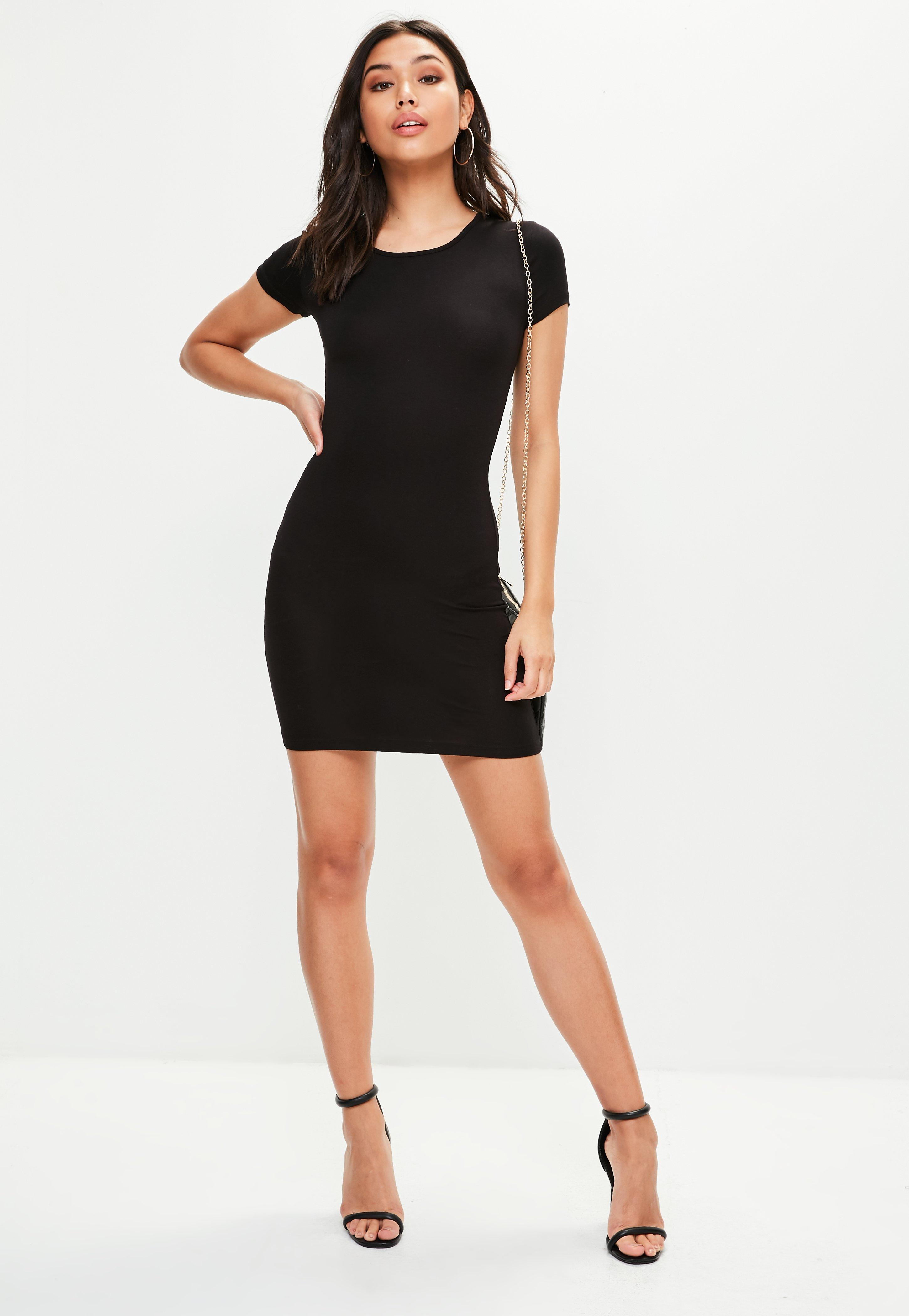 Bodycon mini dress with sleeves donation drop off