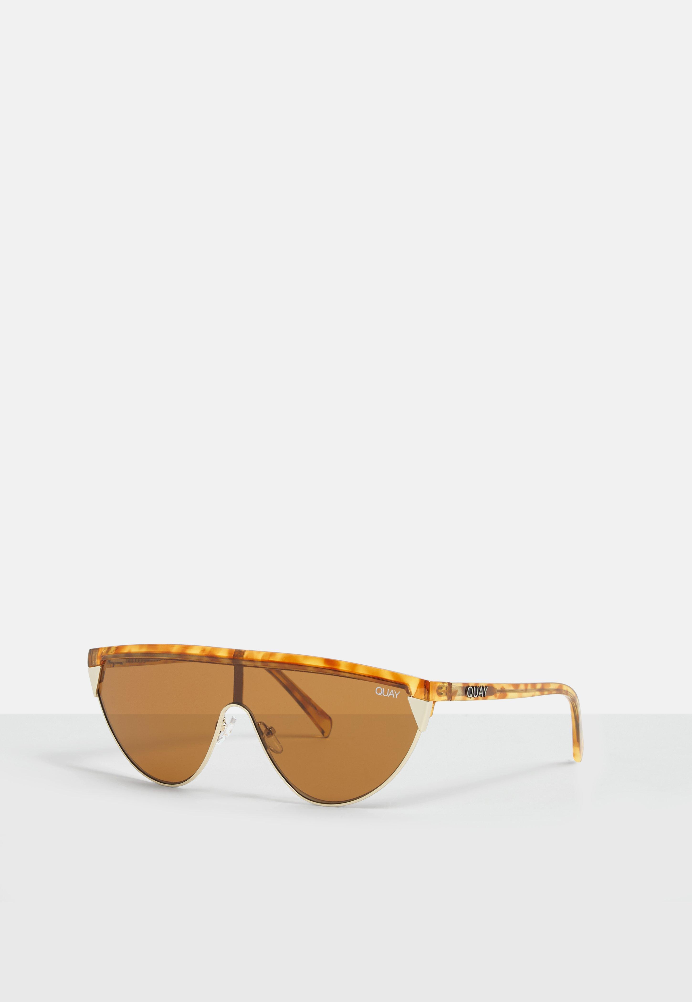 1d85084ac795d Quay - Multicolor X Elle Ferguson Goldie Tortoiseshell Sunglasses - Lyst.  View fullscreen