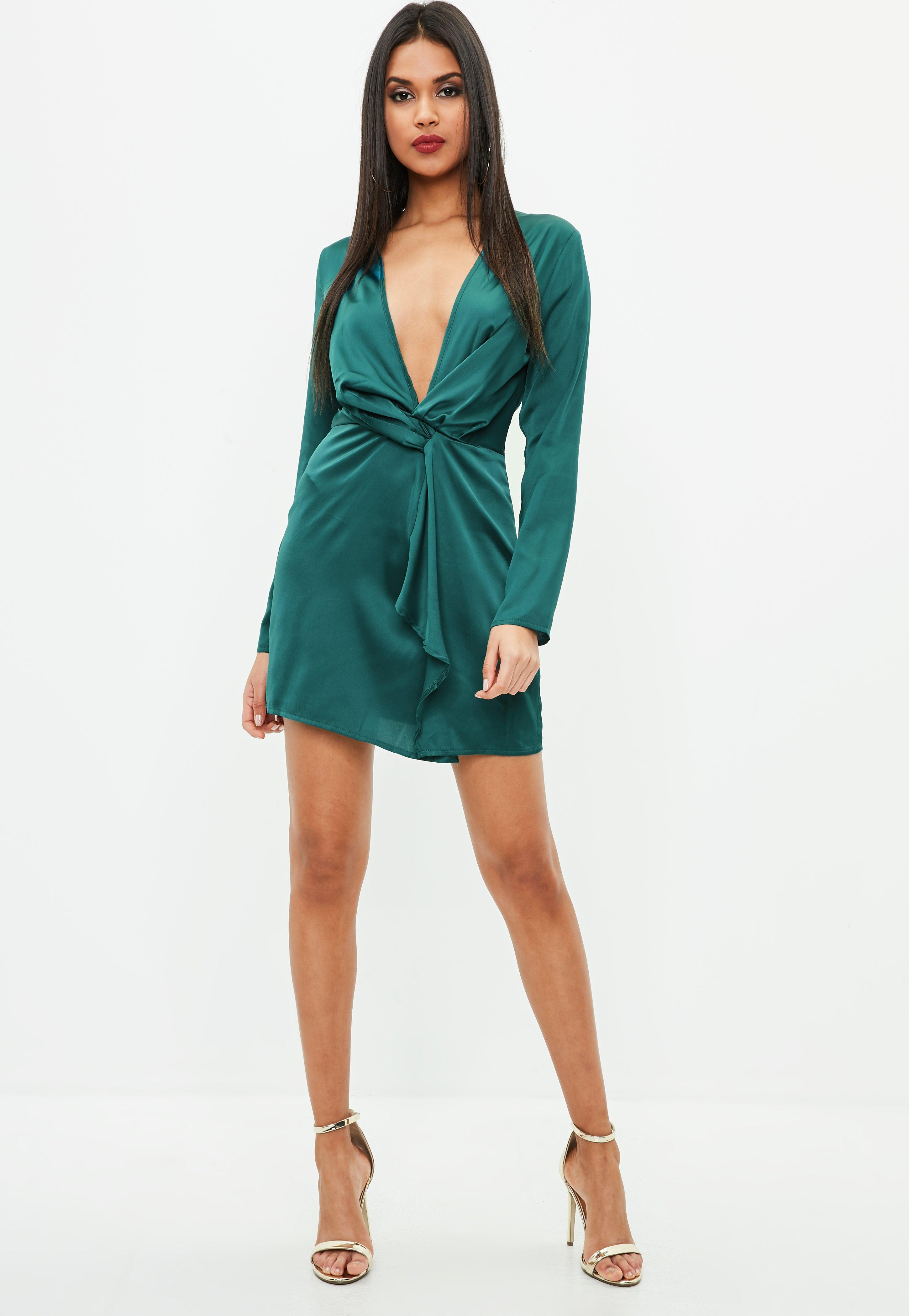 Gallery. Previously sold at  Missguided · Women s Wrap Dresses ... debb4f81d