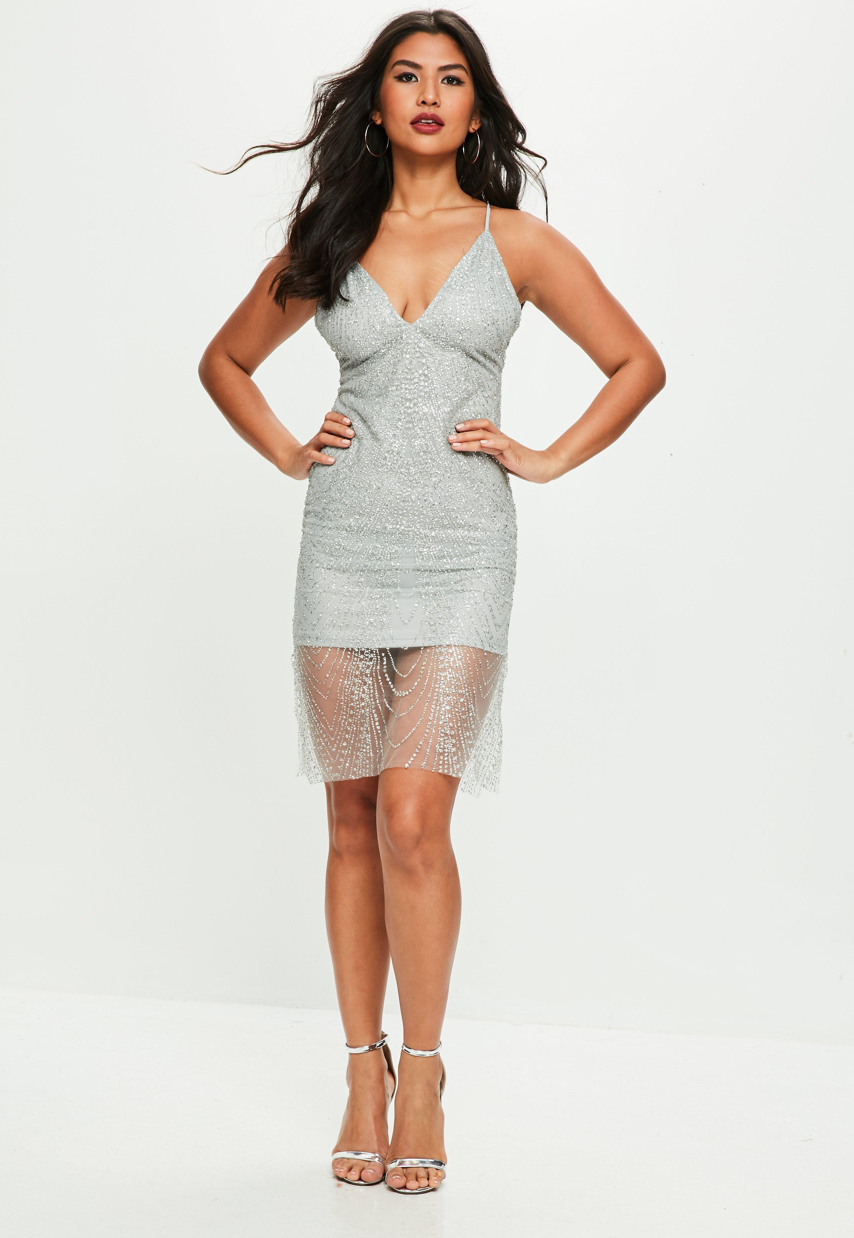 Silver Overlay Dresses