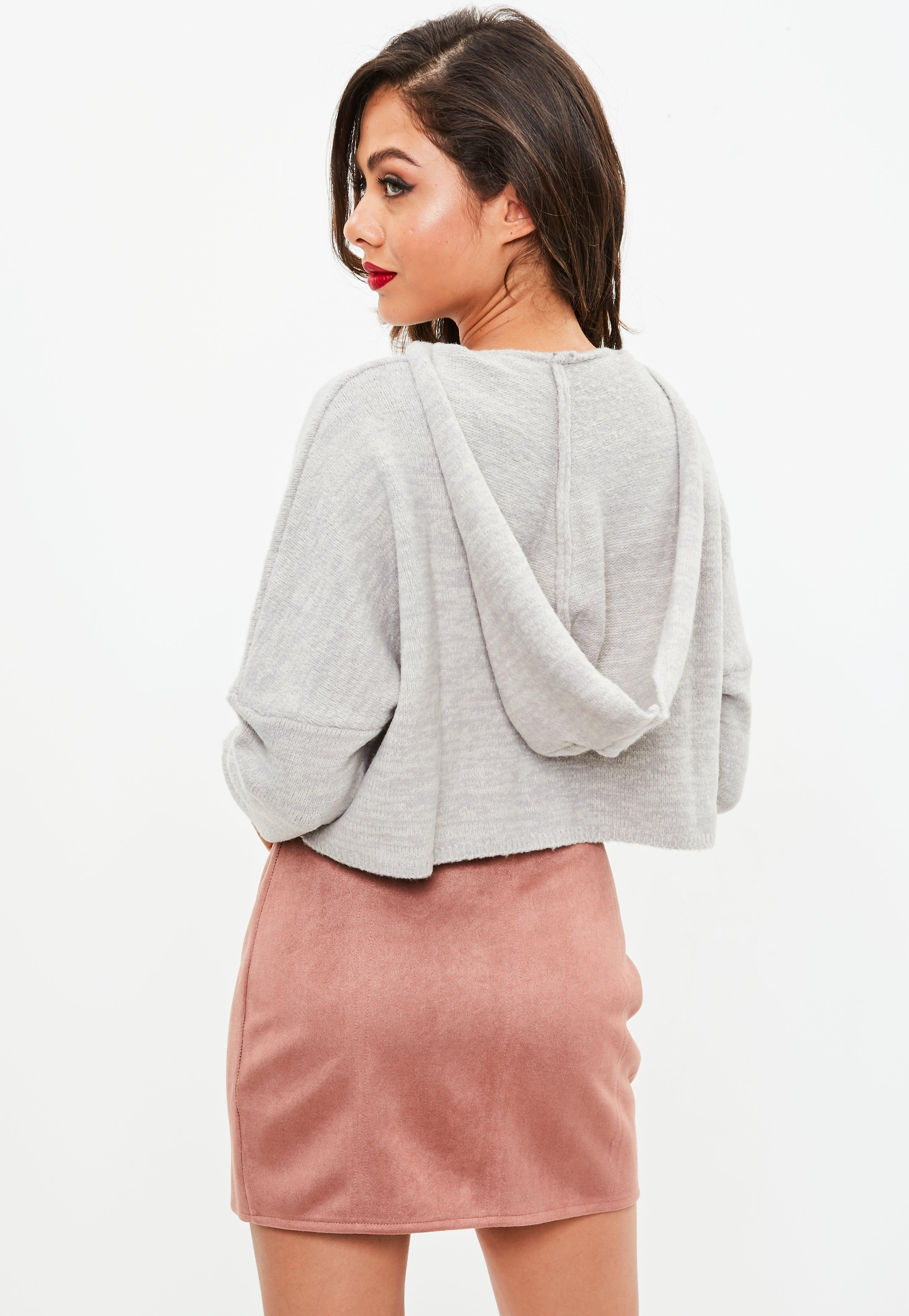Missguided Hooded Cosy knitted Jumper Best Supplier Outlet Good Selling Footlocker Finishline Cheap Online For Cheap Price Affordable PtaSXsd