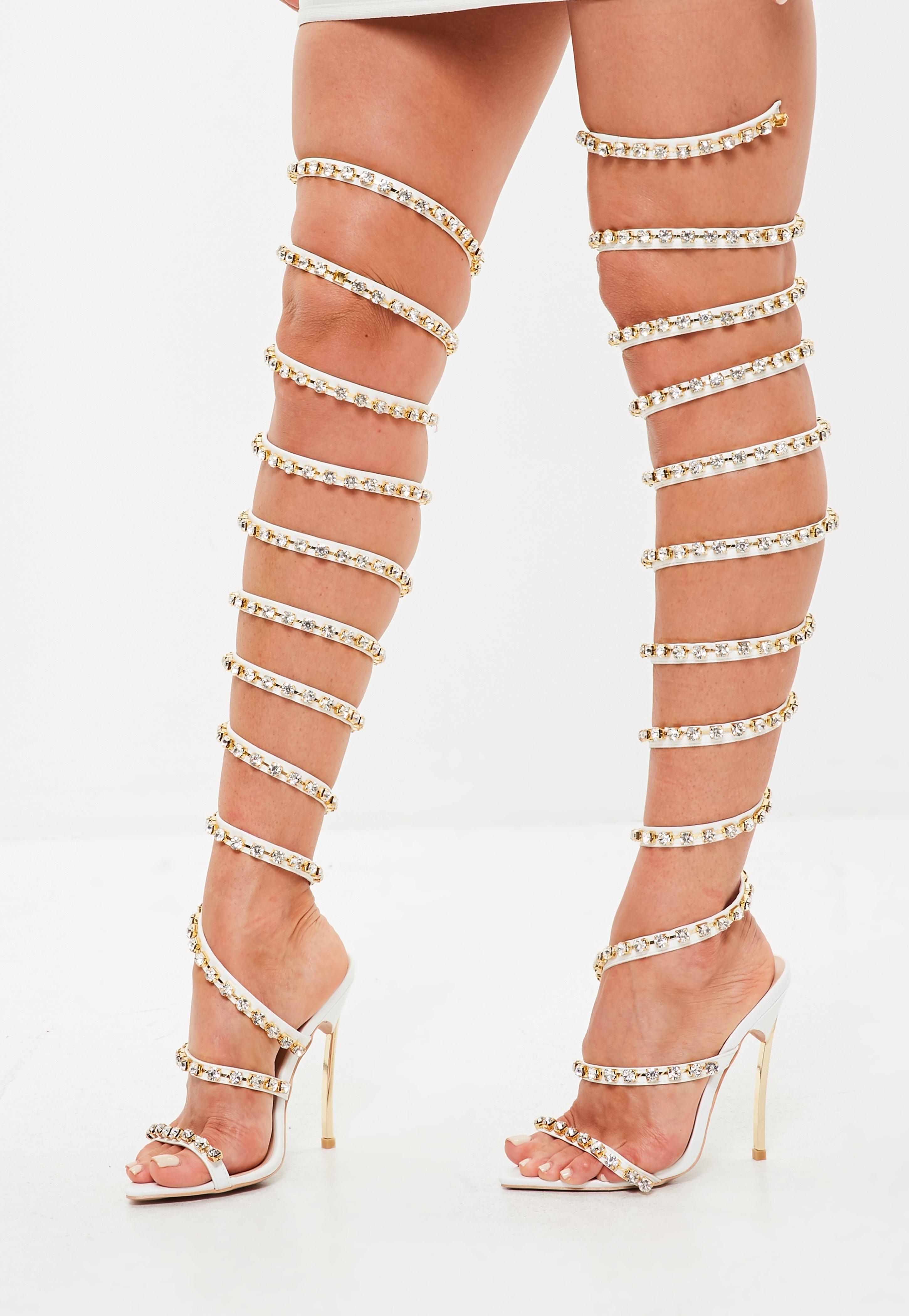 ... High Leg Heel - Lyst. View Fullscreen