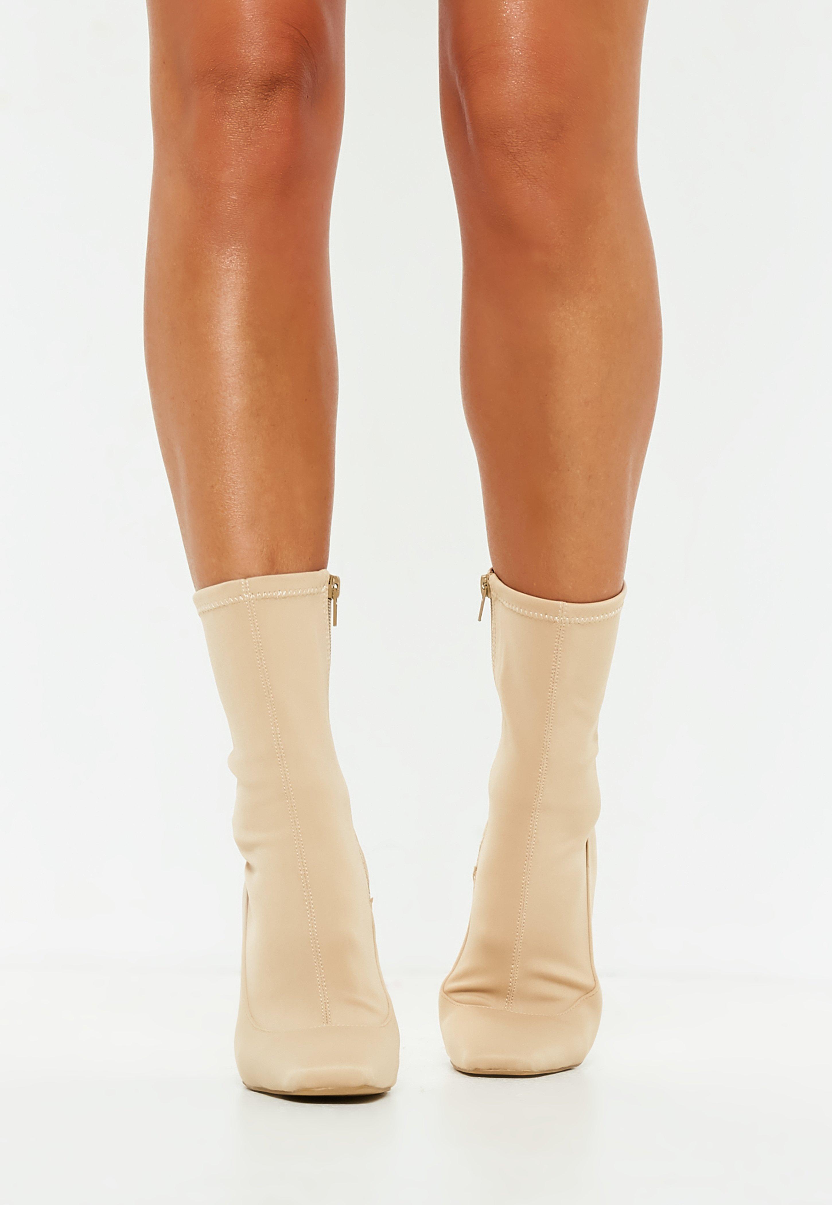 Womens Barbara-102 High Heel Ankle Boots BLACK