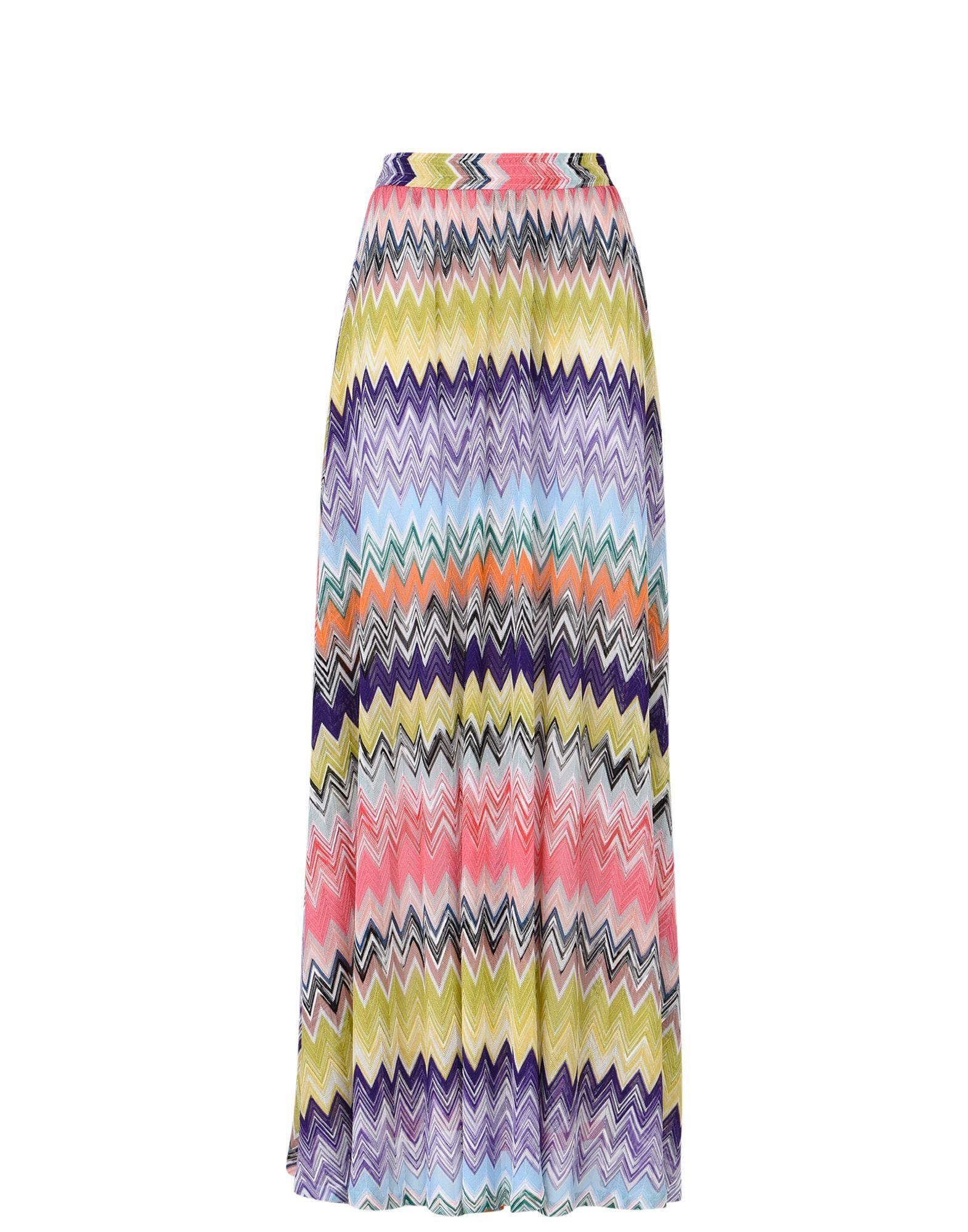 missoni beachwear skirt in pink lyst. Black Bedroom Furniture Sets. Home Design Ideas
