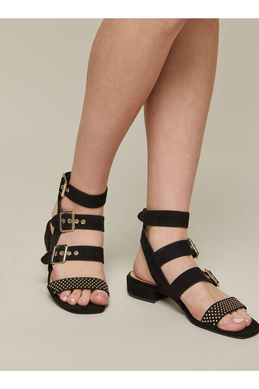Pip studded low heel gladiator sandals clearance buy rHKHHjVD1