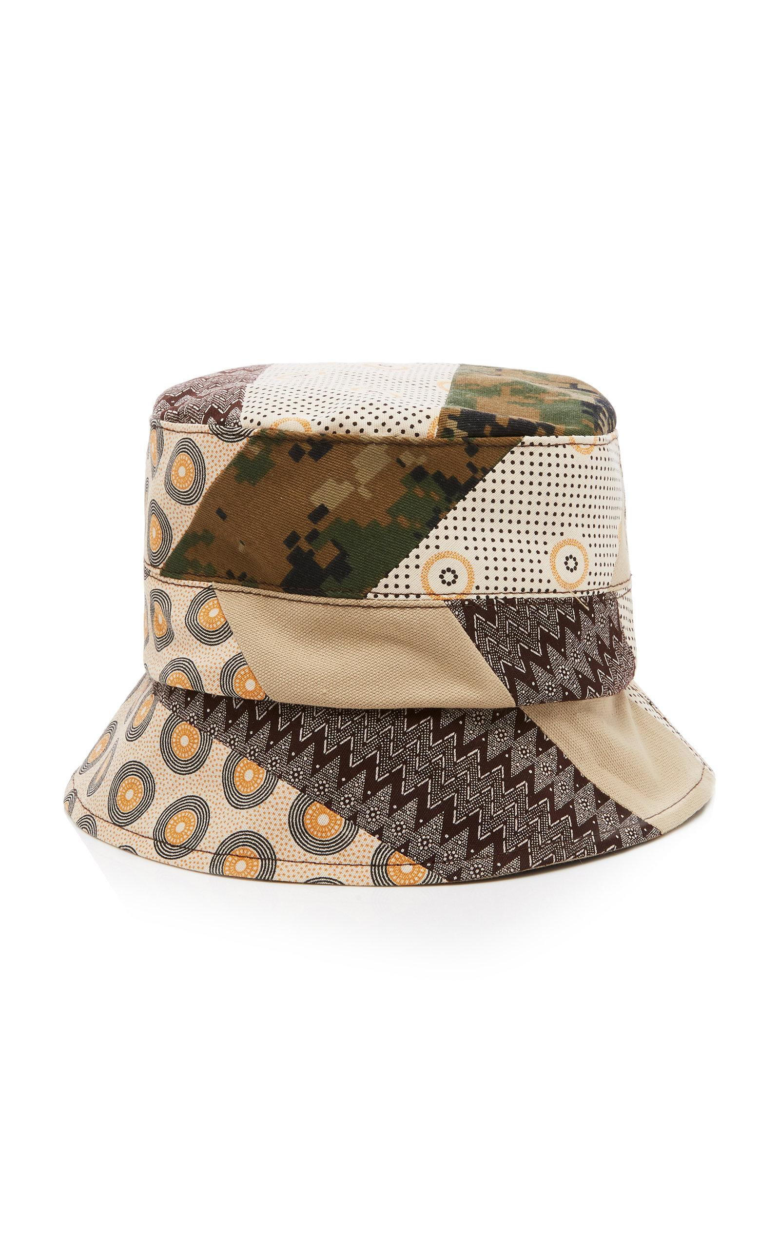 e8d5600a526 Lyst - Albertus Swanepoel Exclusive Patchwork Canvas Bucket Hat for Men