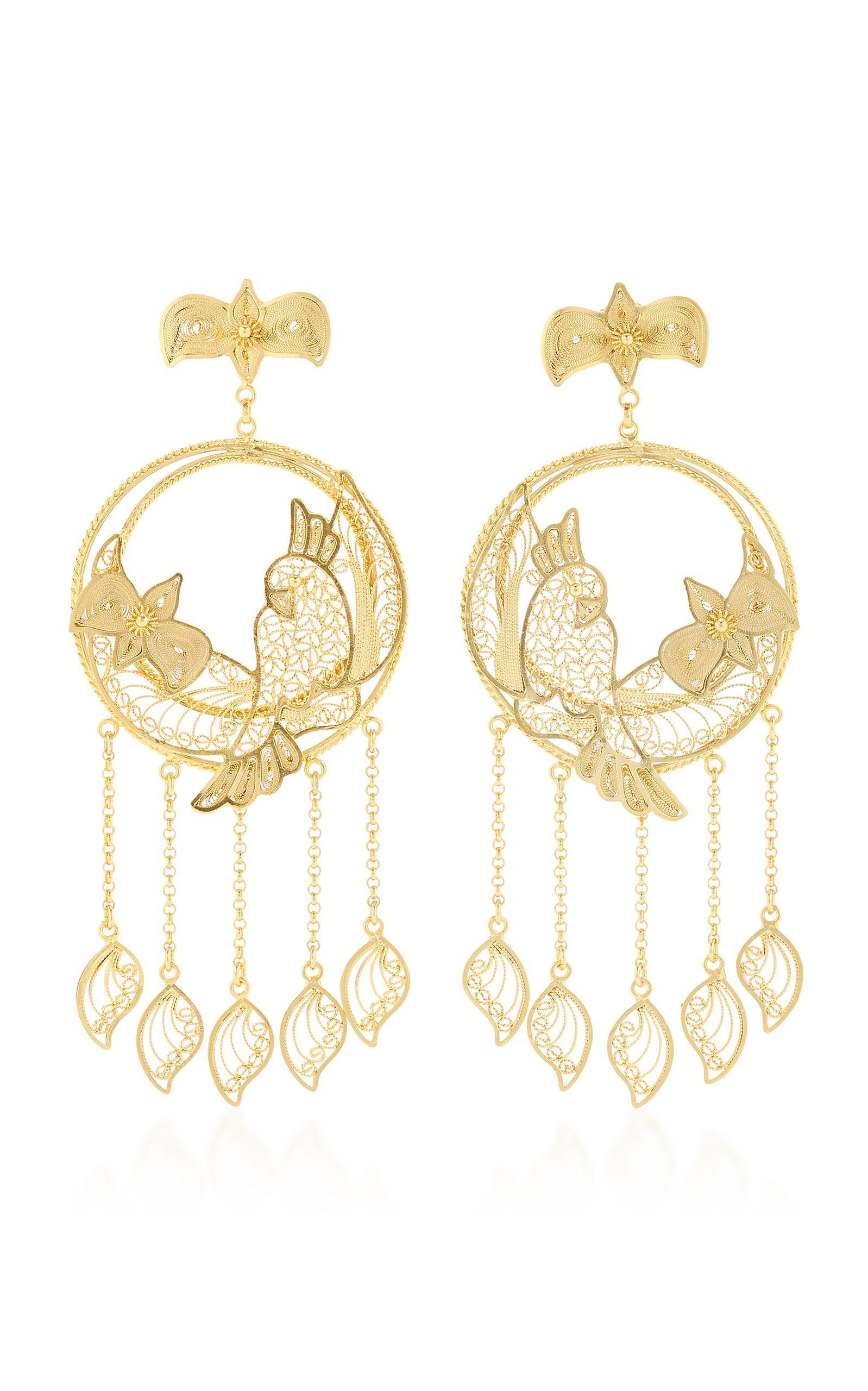 Mallarino Erika Gold Vermeil Earrings 5YwRs