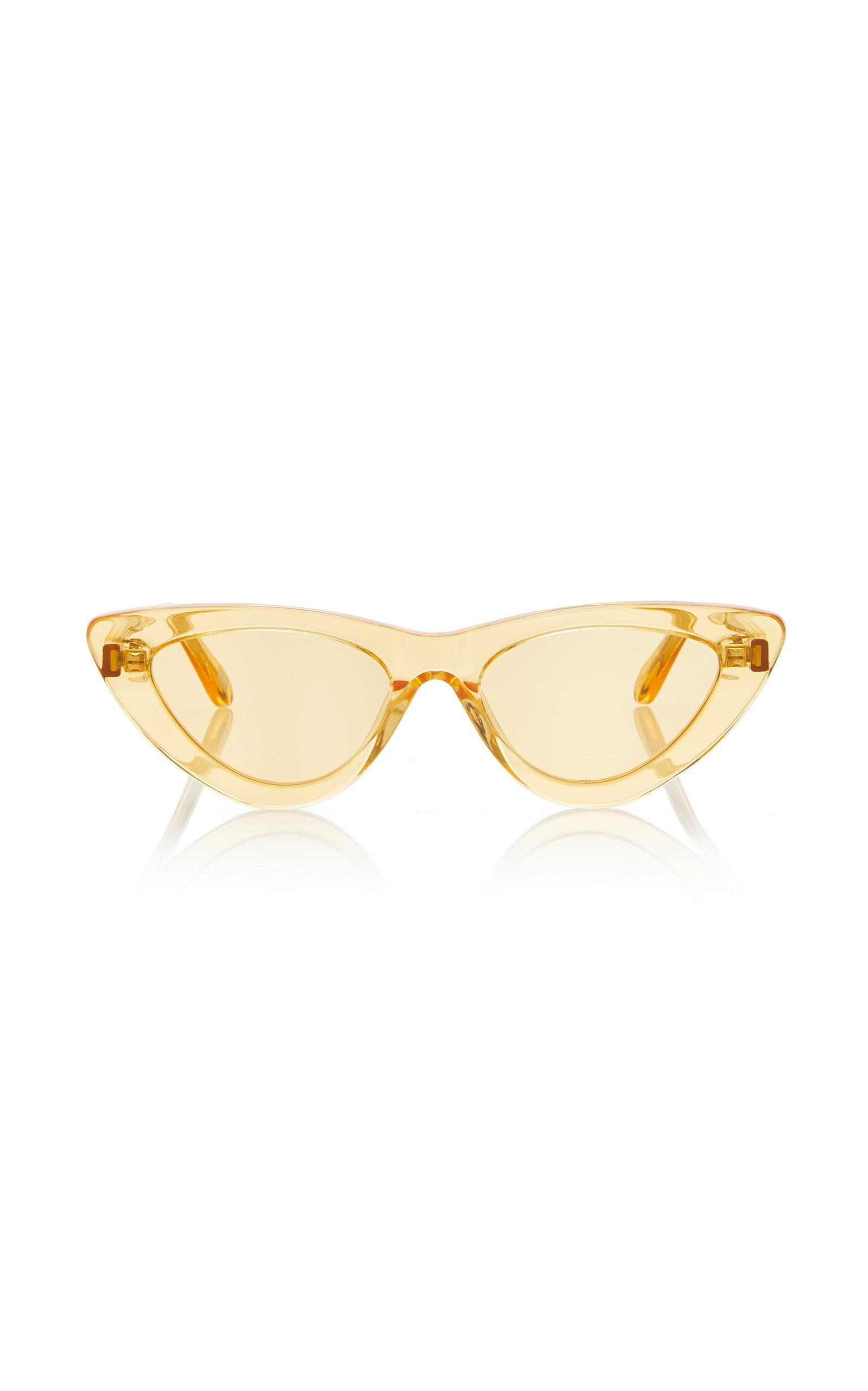 b76ef3f26 Chimi M'o Exclusive 006 See Through Sunglasses in Yellow - Lyst