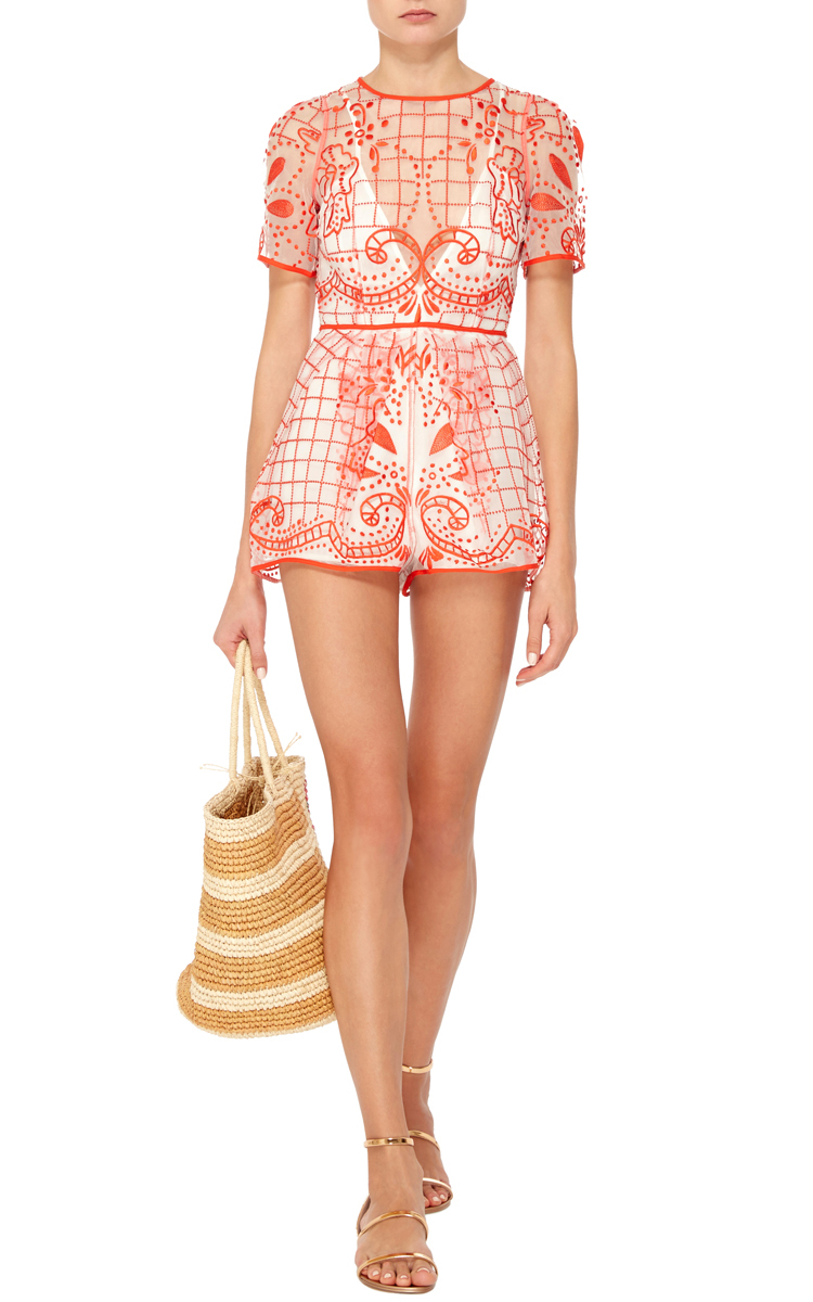 3cdd4259c8 Lyst - Alice McCALL Space Is Only Noise Playsuit in Blue
