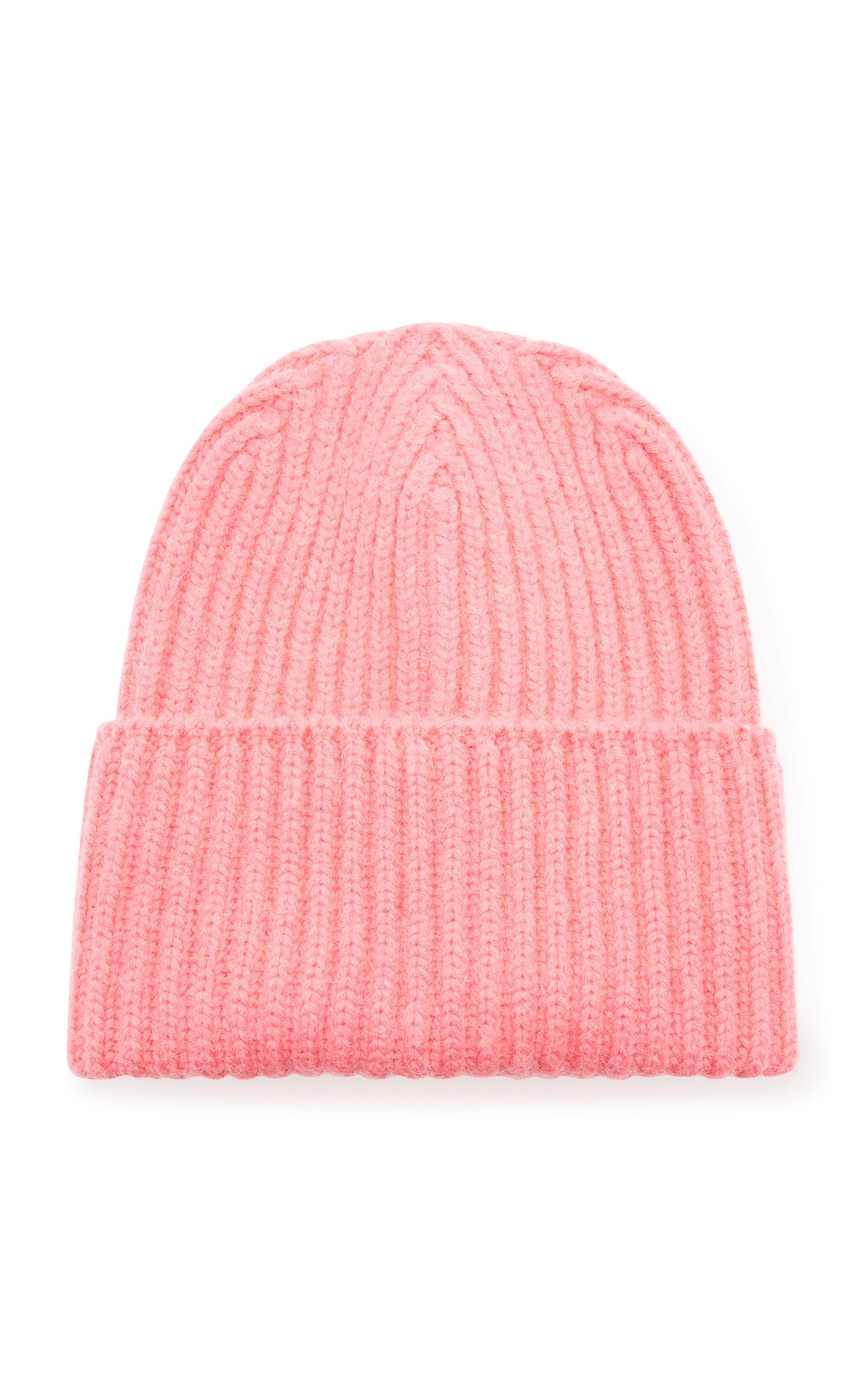 1e5646c8b90 Lyst - Missoni Maglia Luna Wool Rib-knit Beanie in Pink