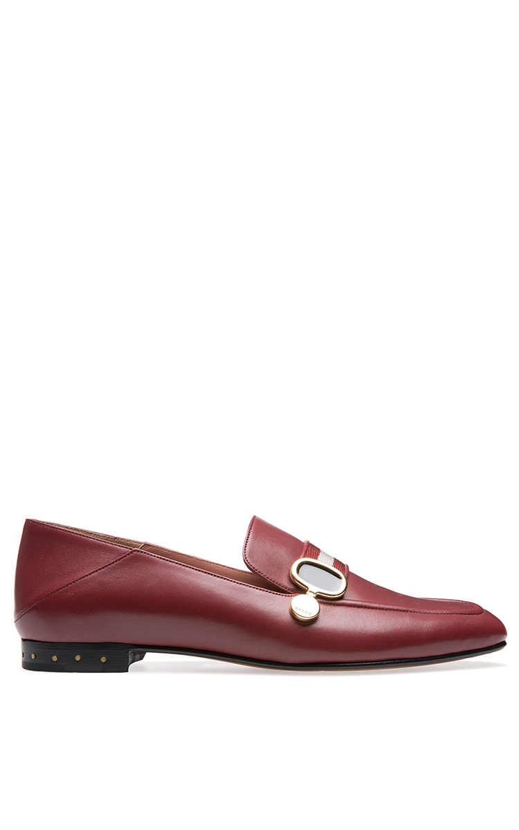 Lyst Bally Livilla Soft Loafer In Red