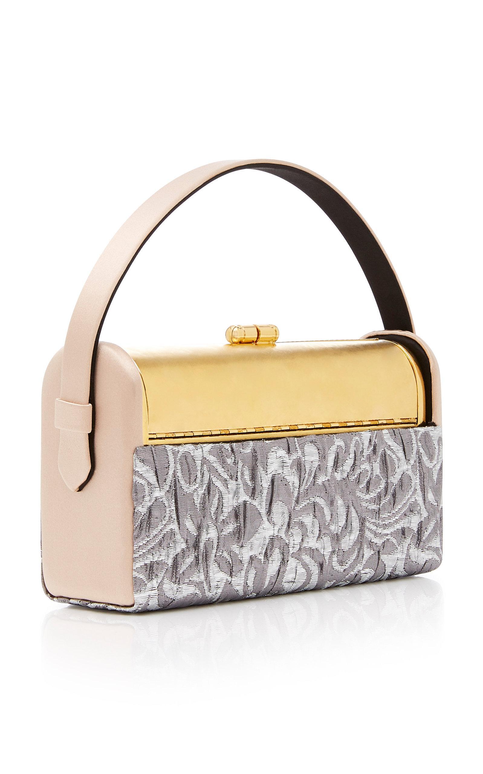 Discount Good Selling Comfortable Regine brocade satin bag Bienen-Davis Clearance Choice Discount Fake oWNCi