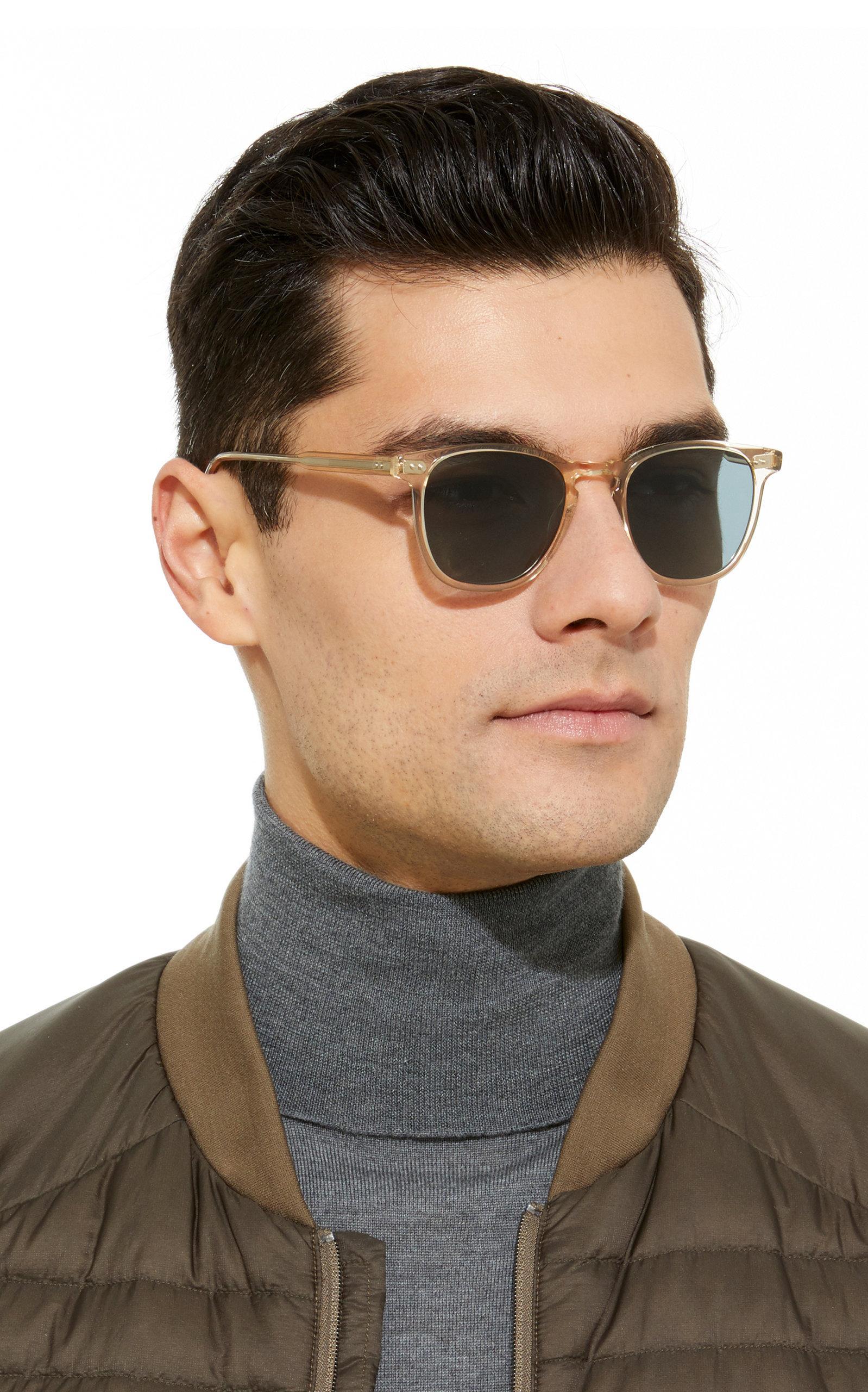 7069d13d66c Garrett Leight - Multicolor Brooks 47 Square Frame Acetate Sunglasses for  Men - Lyst. View fullscreen