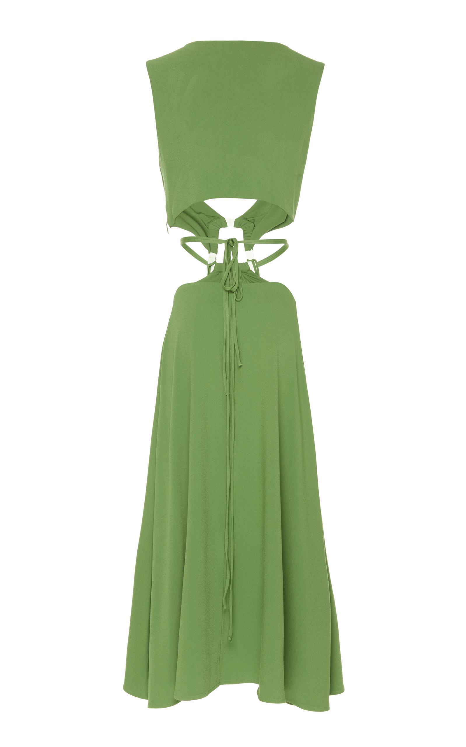 Cybele Lyst Dress Cutout Keyhole Cult Green Gaia In rQstChd