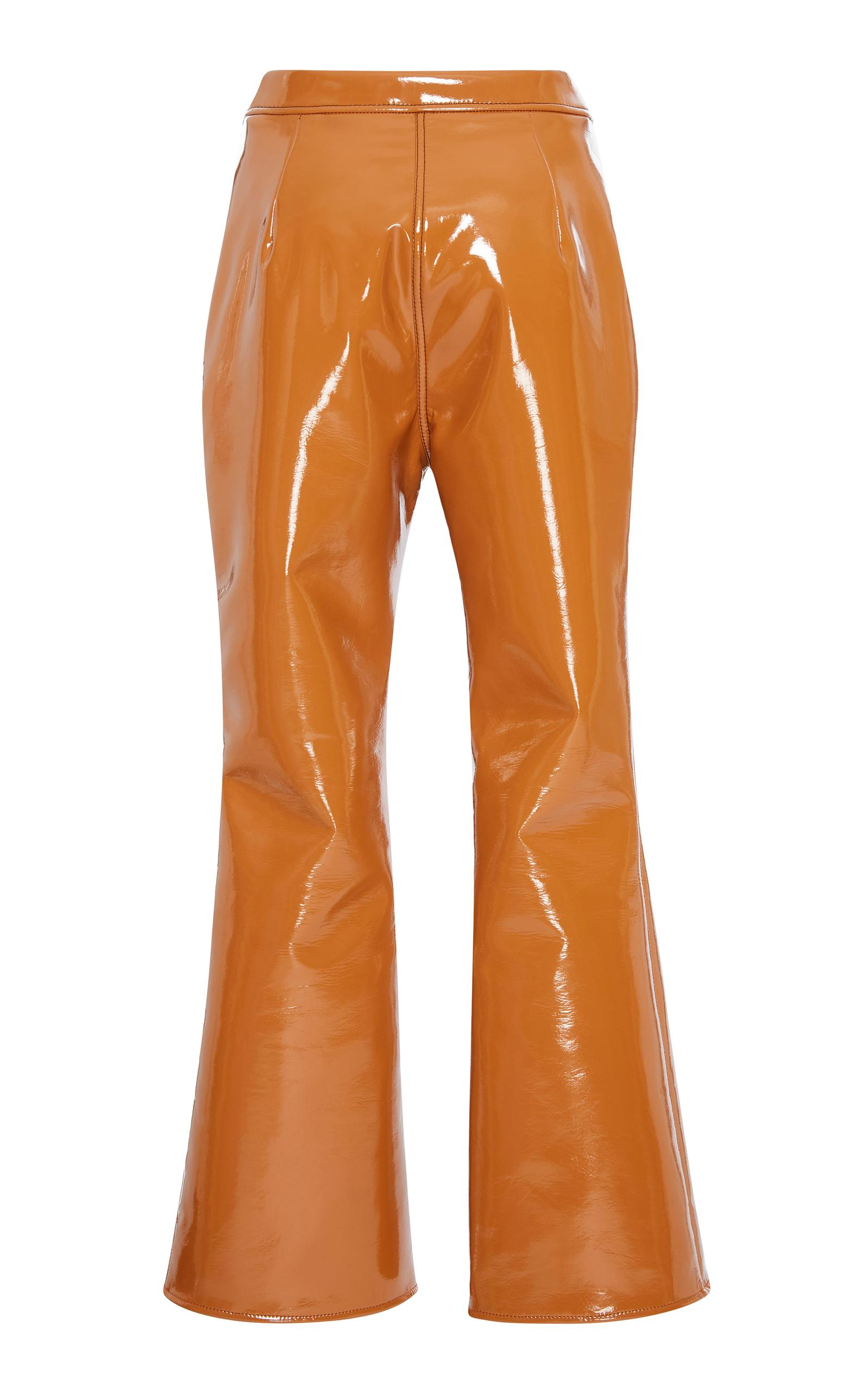 Outlaw flared cropped trousers - Brown Ellery ip3d9WFlAs