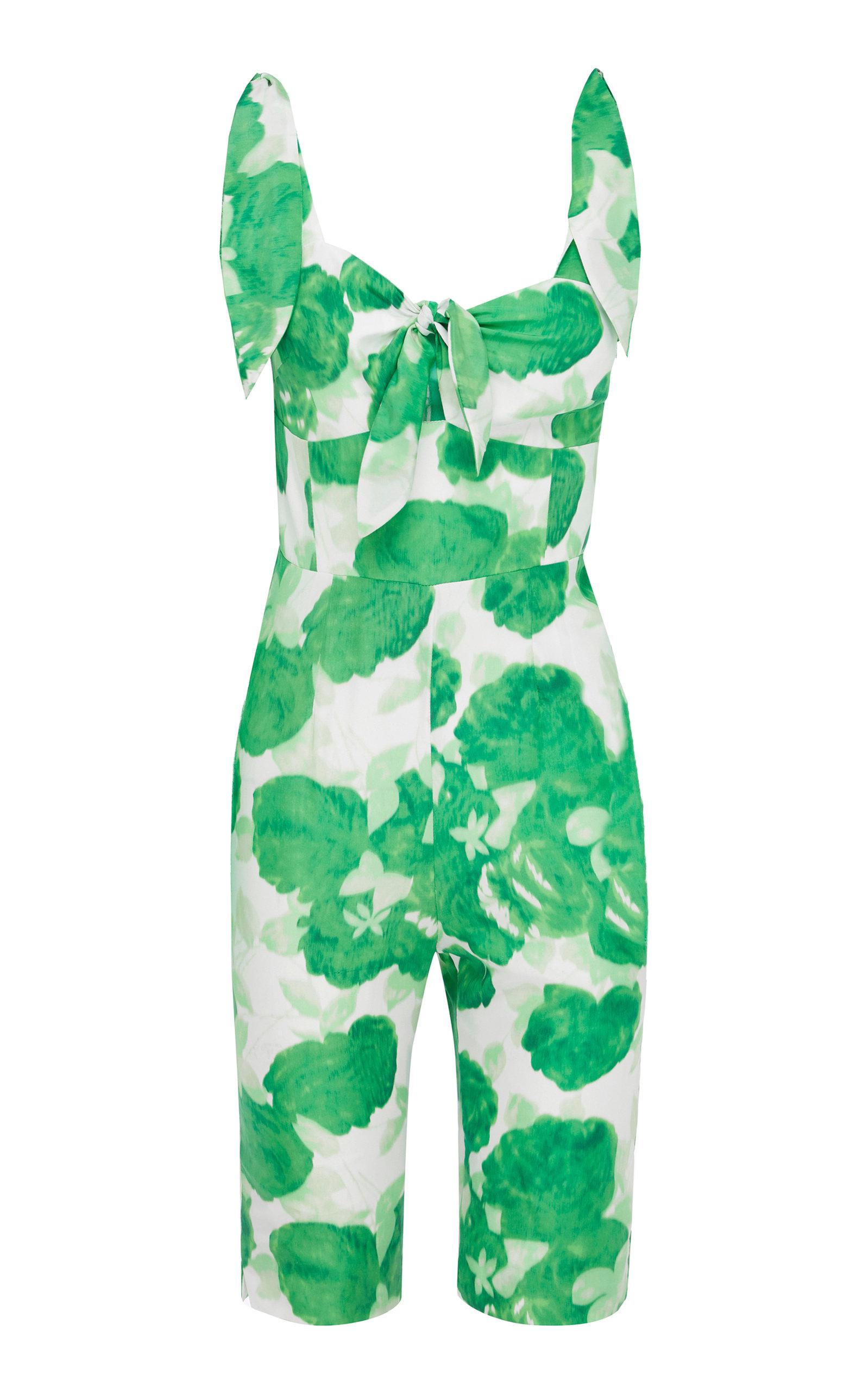 b1a10756ed4 Alice Mccall Make My Day Short Jumpsuit in Green - Lyst