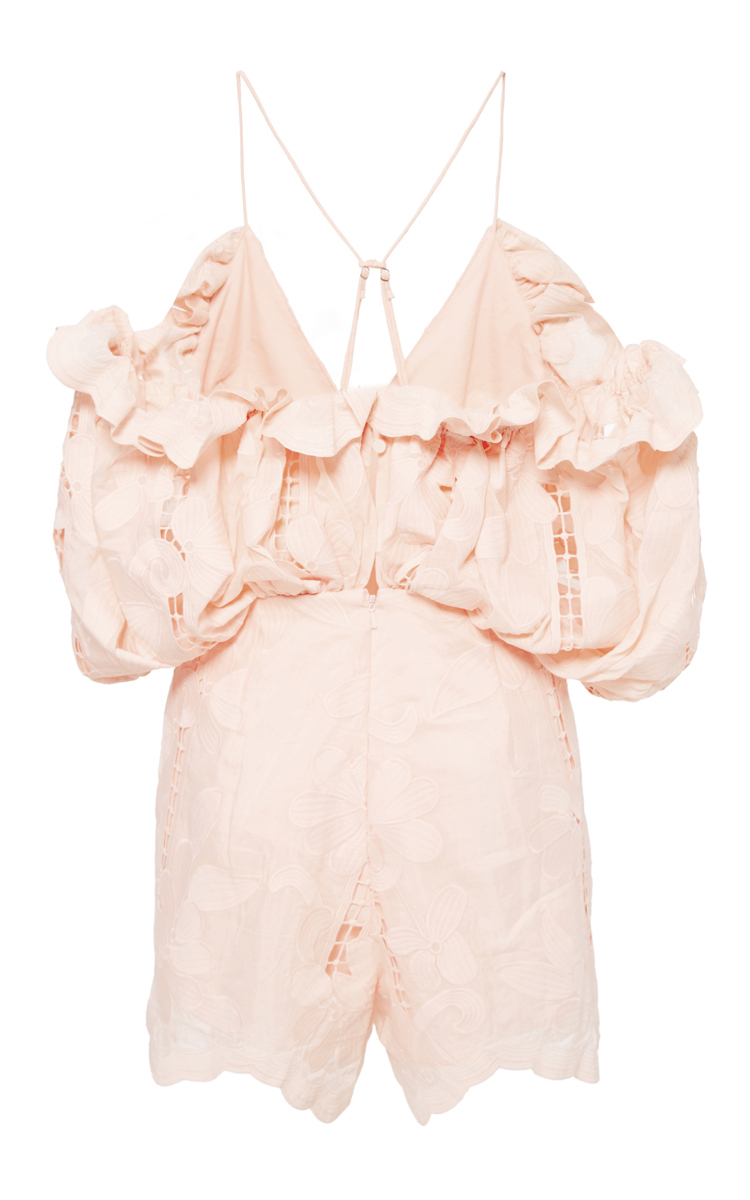 5b5dbba3b8 Lyst - Alice McCALL Blush Shake It Off Playsuit in Pink