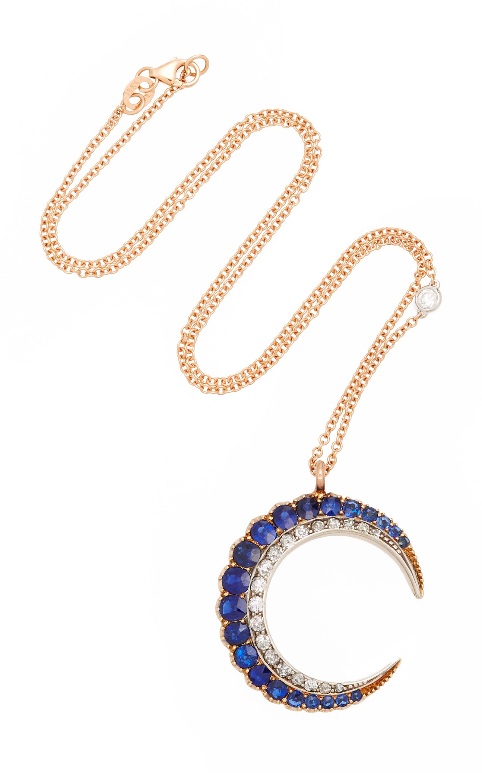 652c9fb18551 Toni chloë goutal one of a kind victoria ii crescent necklace jpg 1598x2560  Crescent chloe goutal