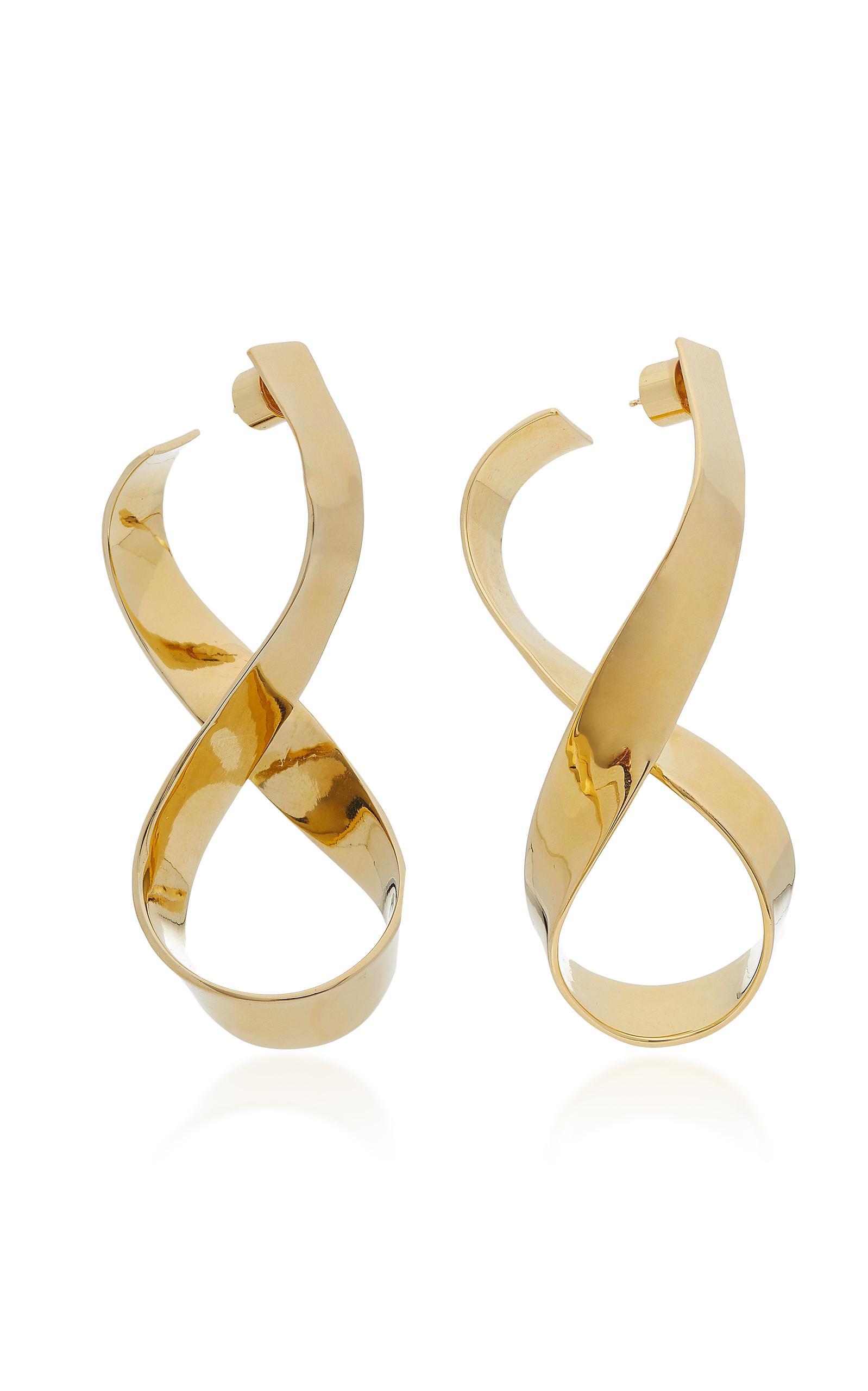 Jennifer Fisher Unicorn Gold-plated Earrings GaNQB