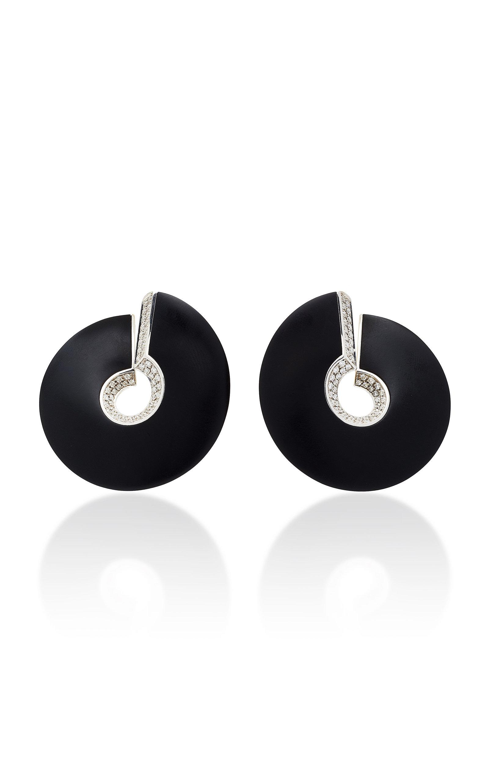 Vhernier Verso Grande Clip Earrings