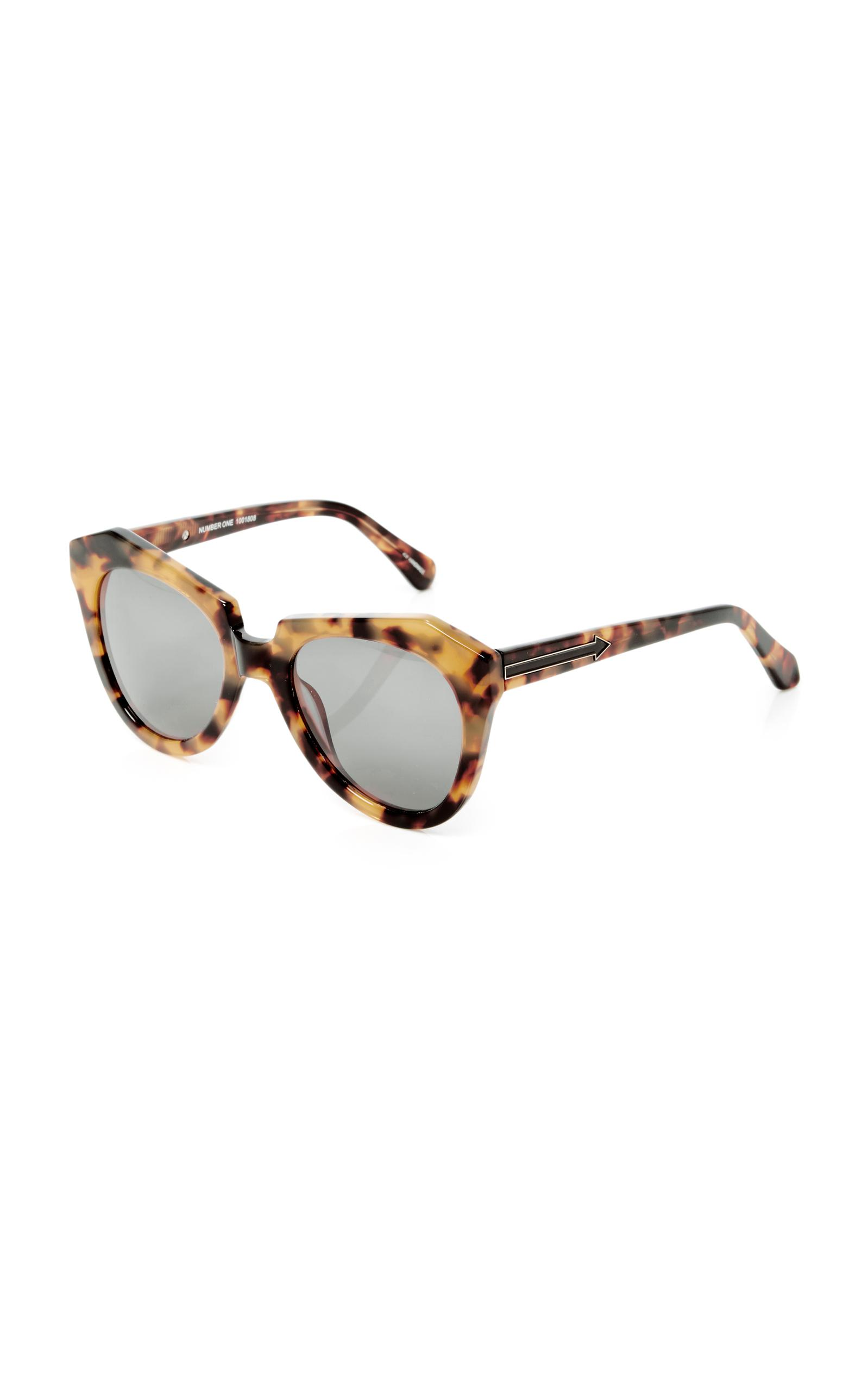 07b0cae60c0b ... Karen Walker Number One Tortoiseshell Acetate Sunglasses in Brown Lyst