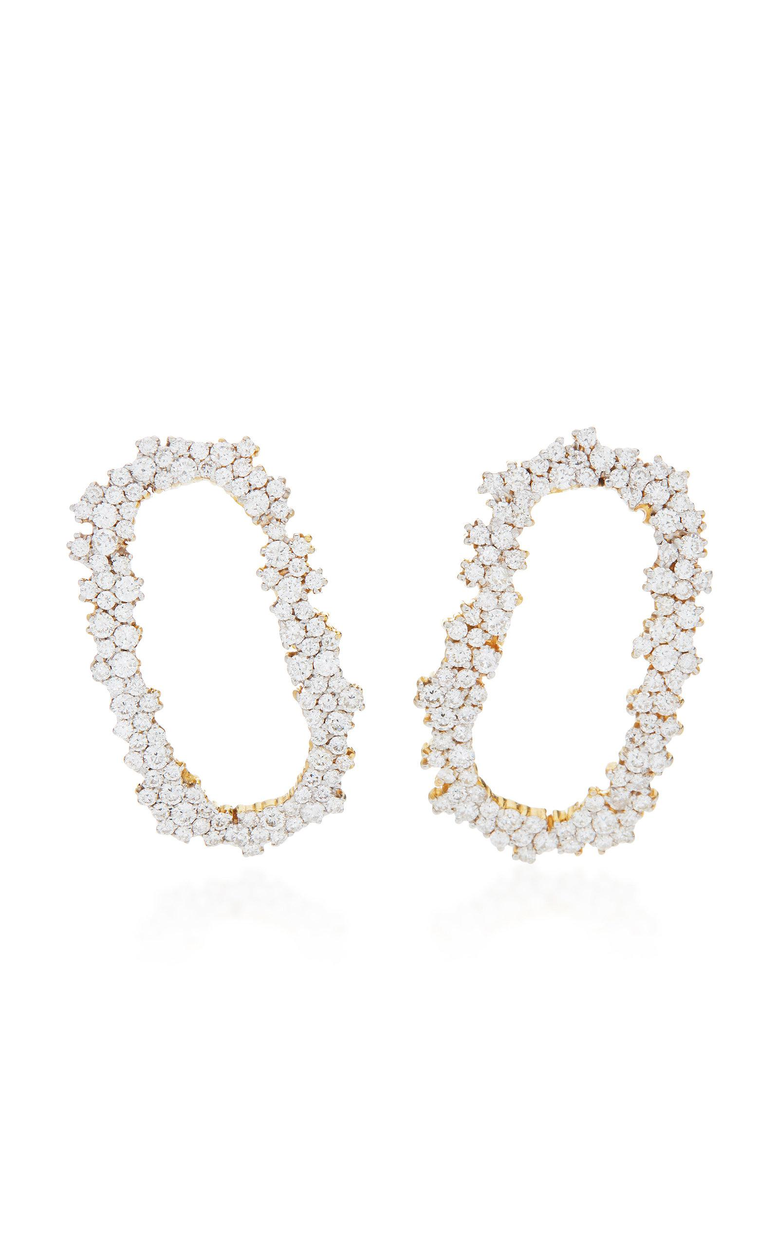 Diamond Iolanda Earrings Ana Khouri Lj893