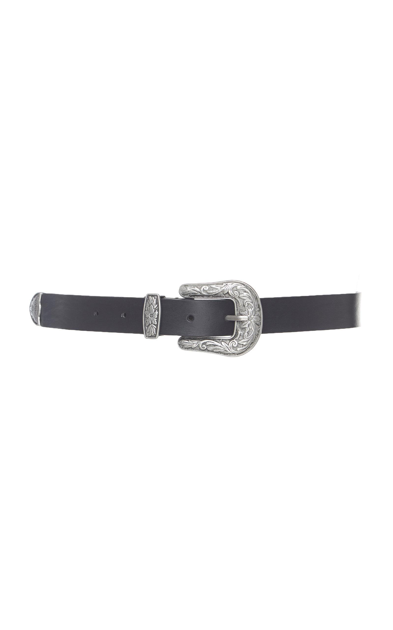 Leather belt Alberta Ferretti 1jpuM