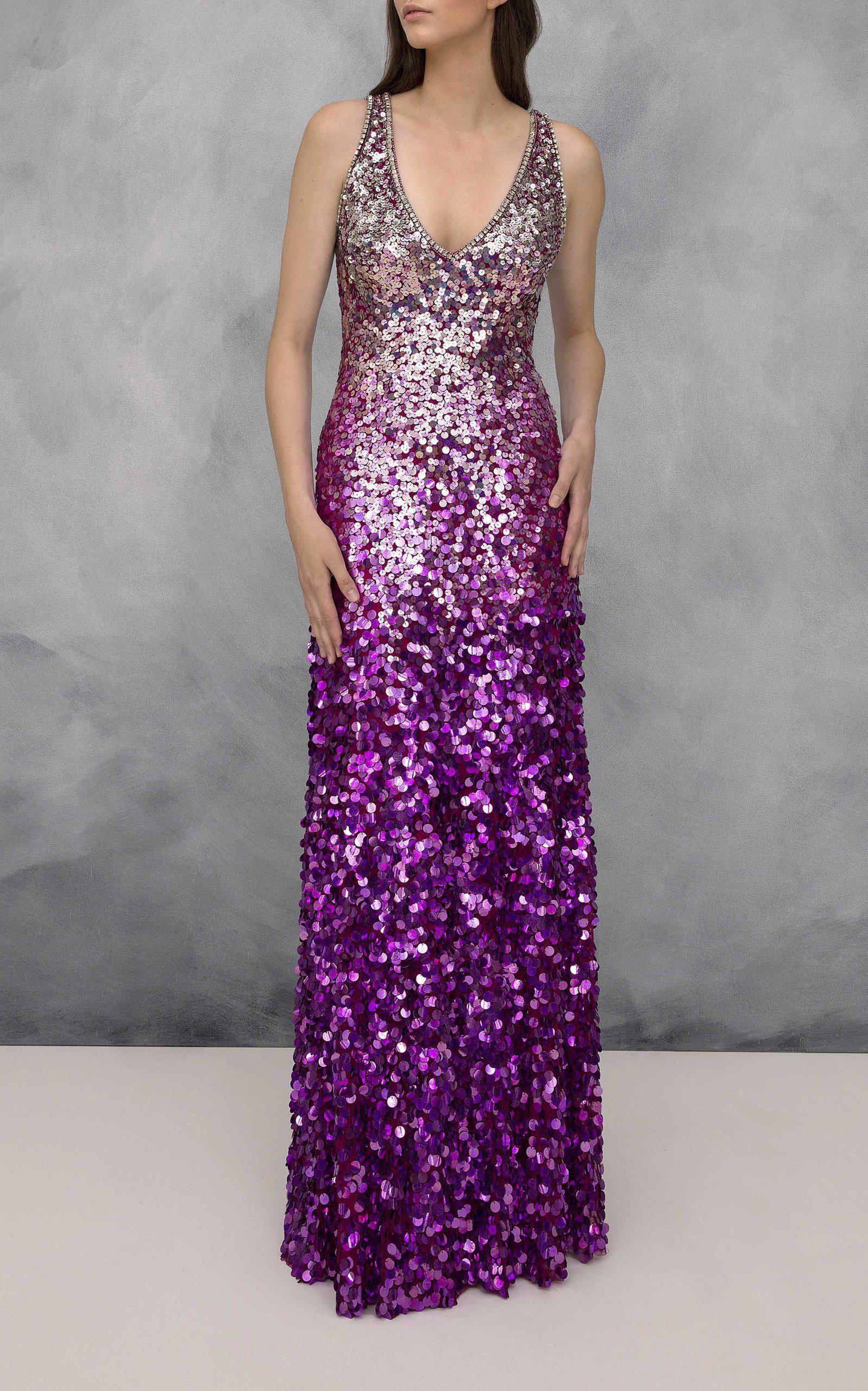 Seto Sequin Column Gown Jenny Packham BBuid5Gx