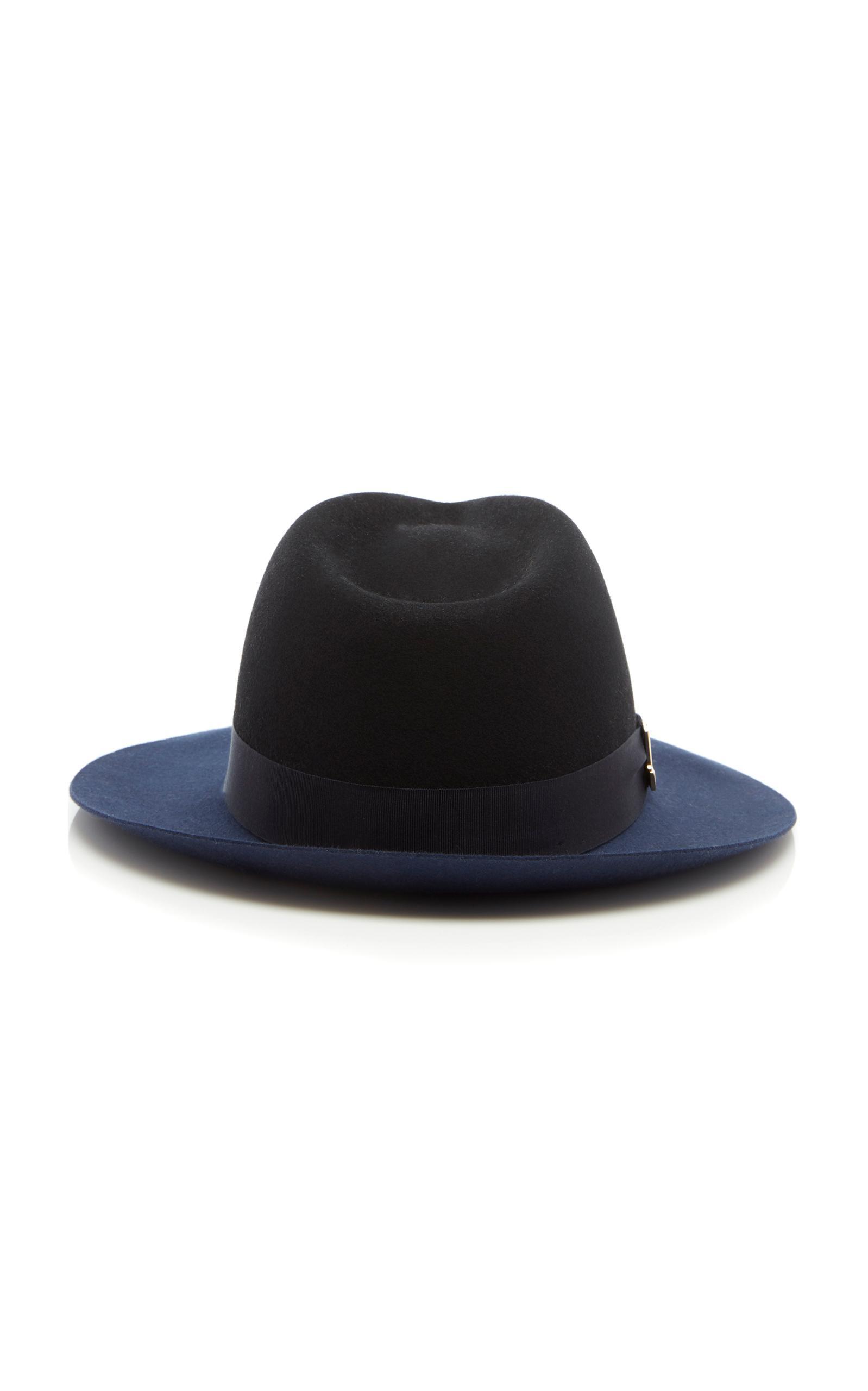 2ae8e5a7d4b Lyst - Lanvin Jl Fedora in Blue