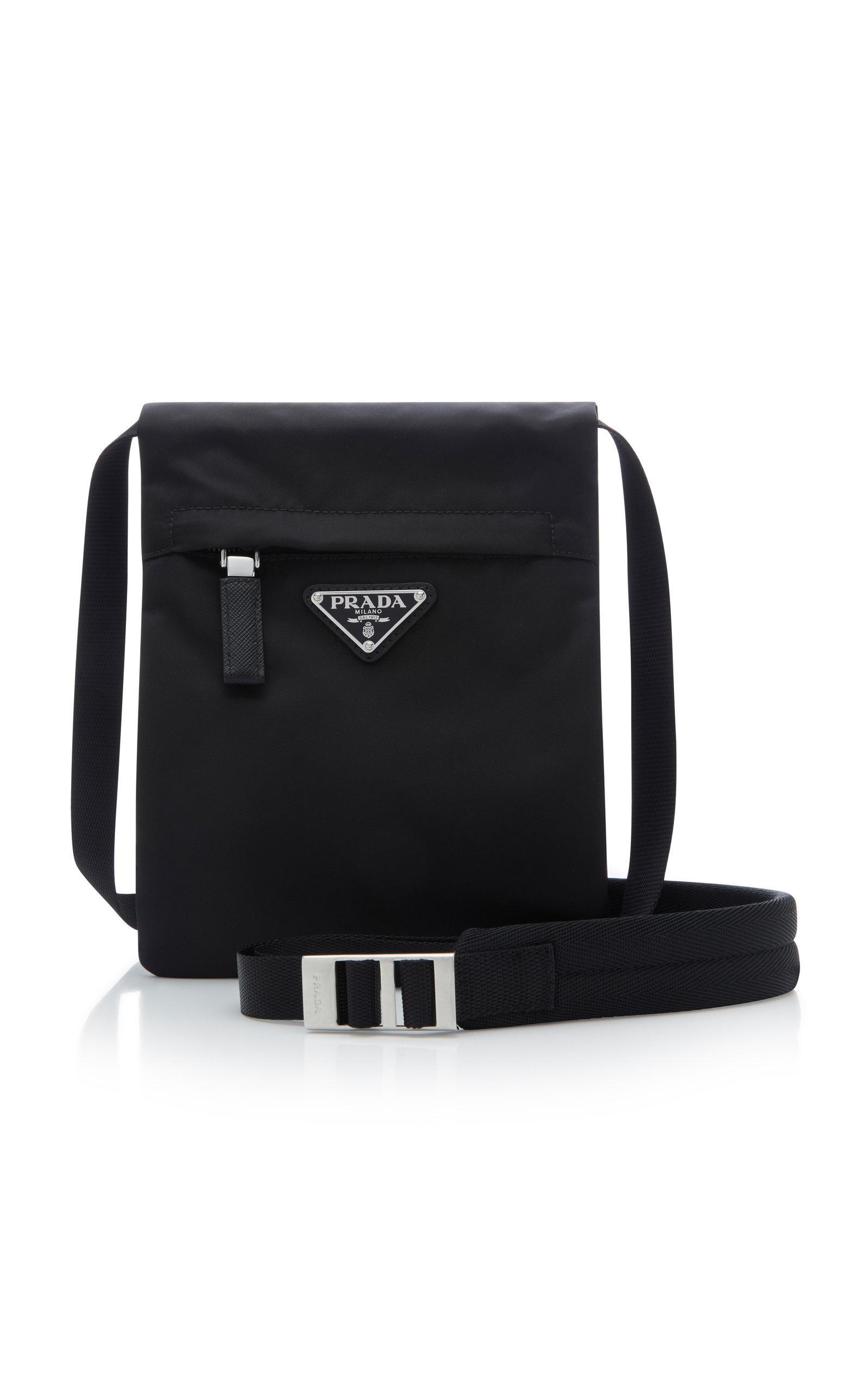 006b0706e5 Lyst - Prada Small Technical Crossbody Bag in Black for Men