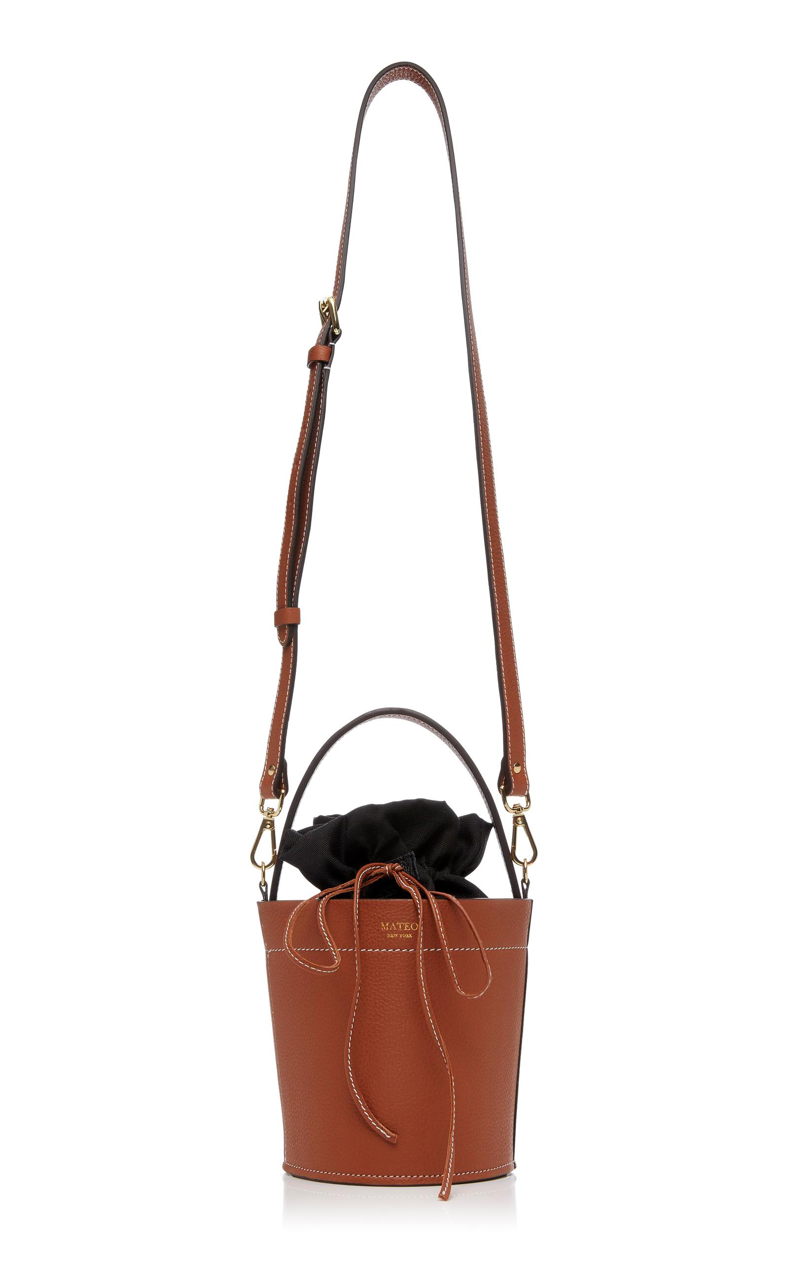 046ce214d67e Lyst - Mateo The Madeline Bucket Bag In Cognac in Brown