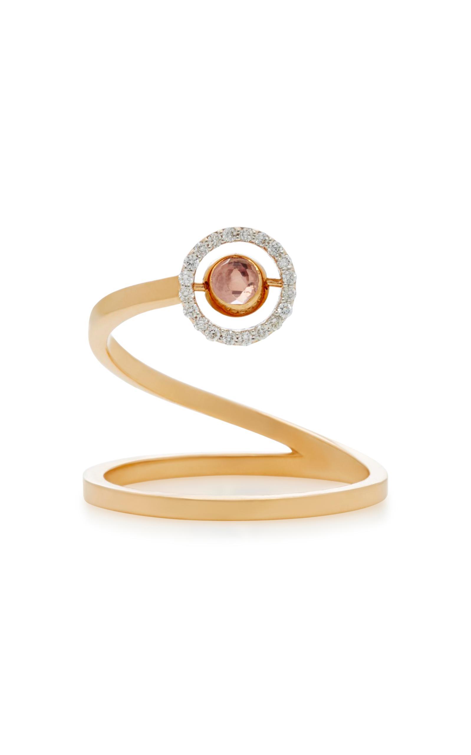 Marie Mas Swiveling Spiral Ring ufLfjCC