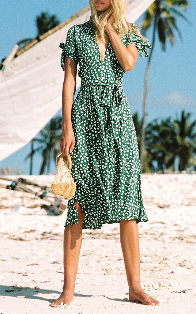 Solange Midi Dress Faithfull The Brand HZYBM
