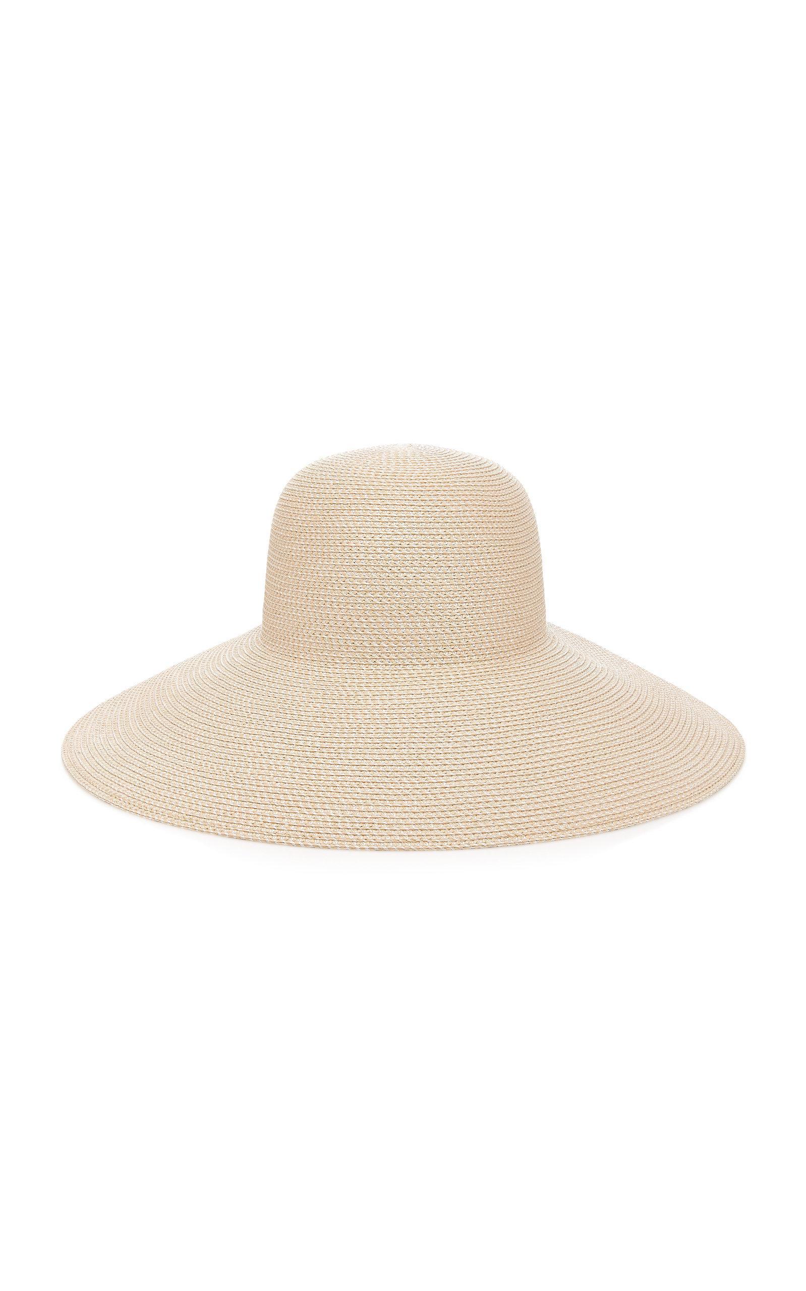 Lyst - Eric Javits Bella Woven Sun Hat in White 375068578b2
